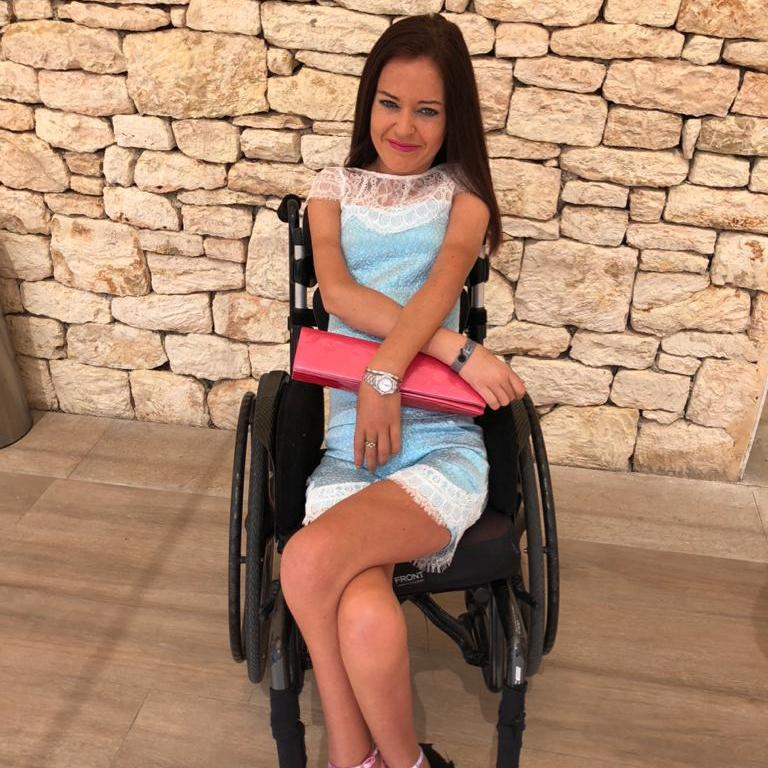 Stranded British woman resumes holiday after missing wheelchair part found