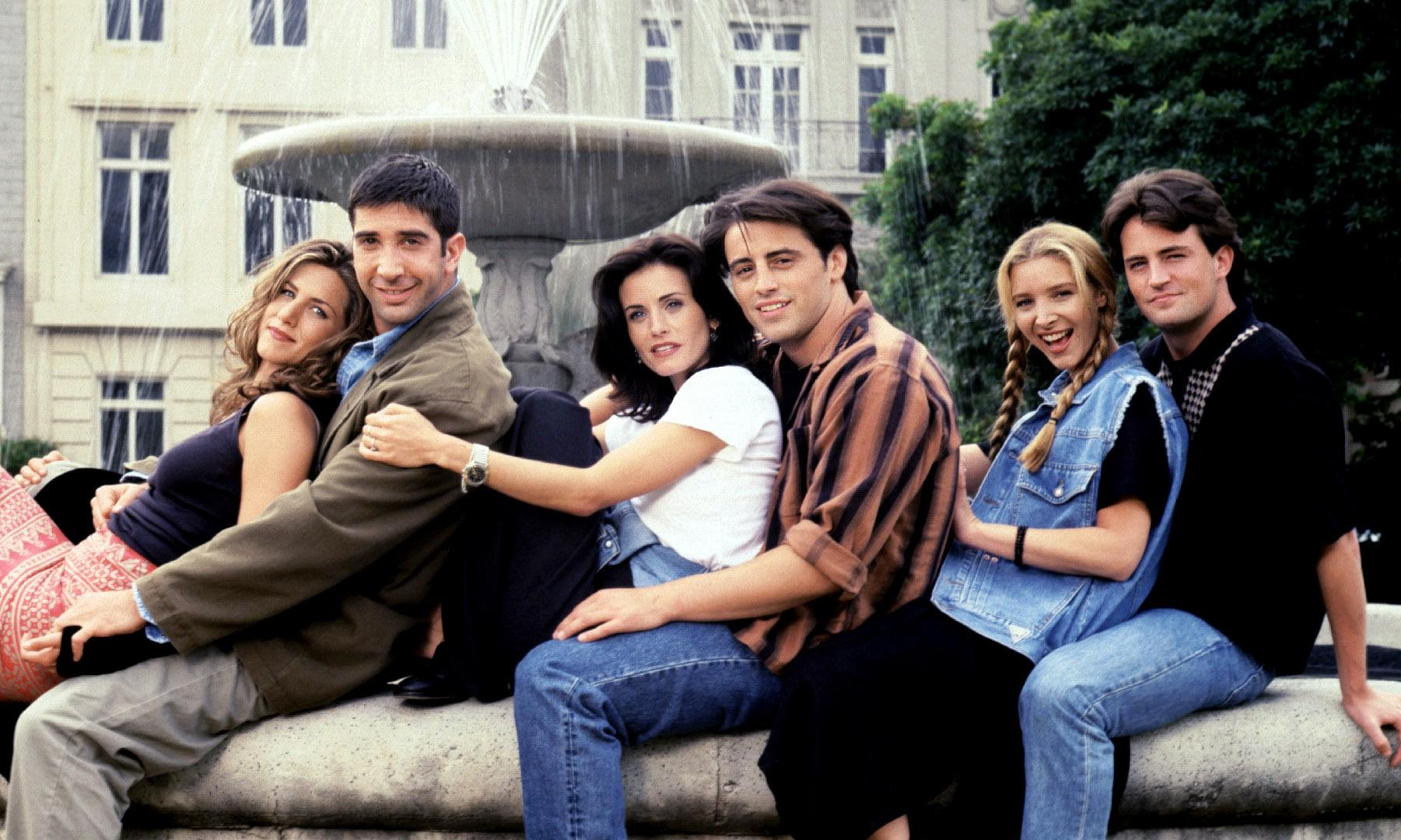 'Jennifer Aniston cried in my lap': the inside story of Friends