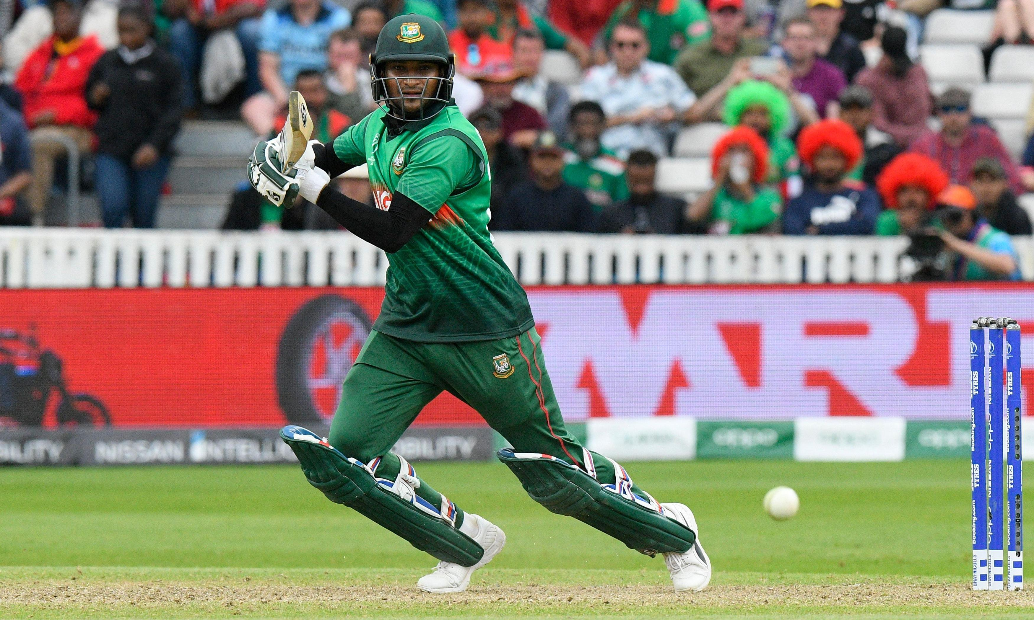 Ruthless Shakib drives Bangladesh to victory over hapless West Indies