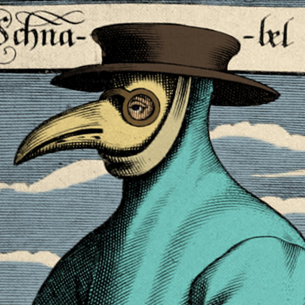 Plague doctor, 17th Century.