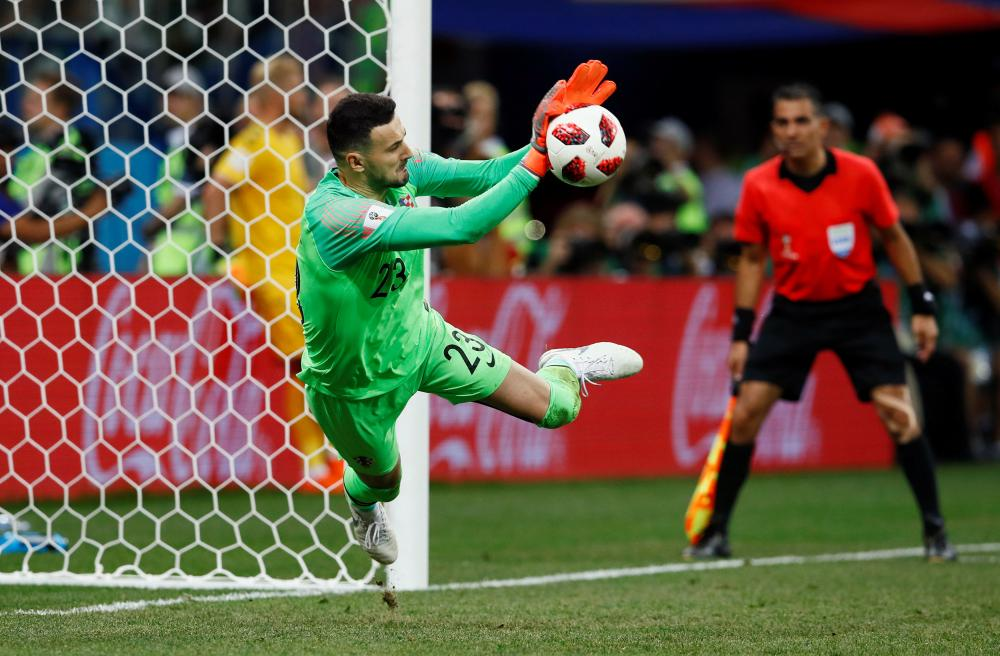 Subasic saves from Schone.