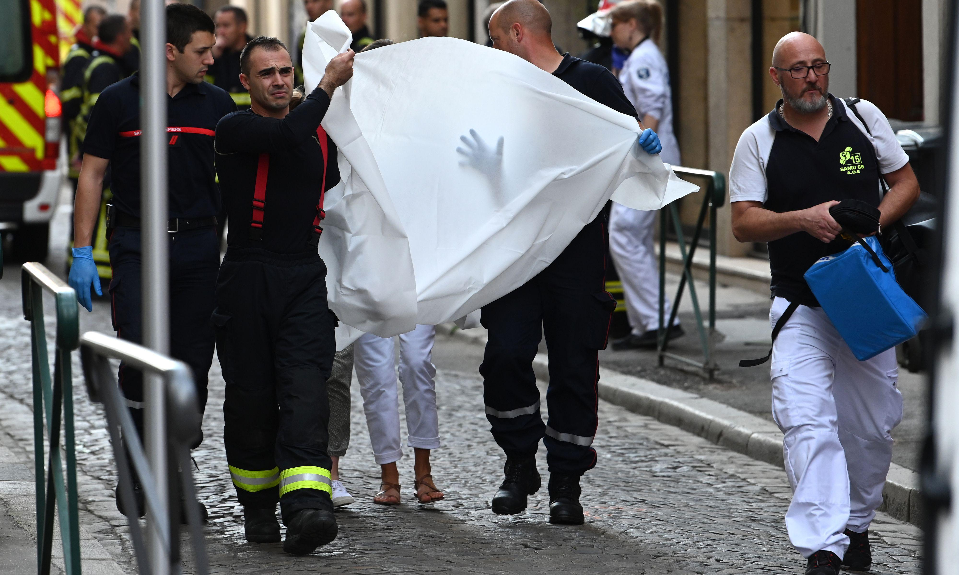 Several people injured in suspected package bomb blast in France