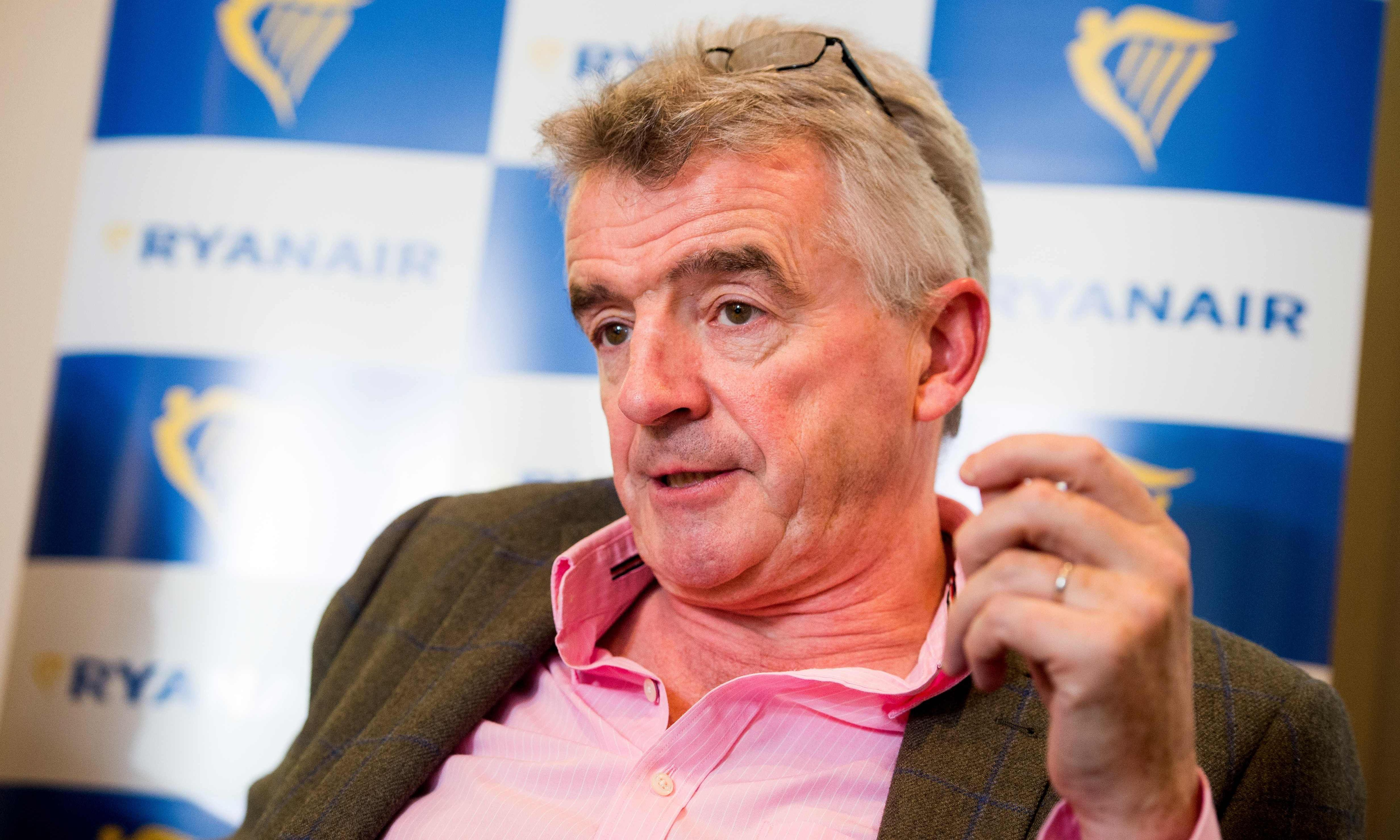 Ryanair's defence of O'Leary's €99m bonus target doesn't wash