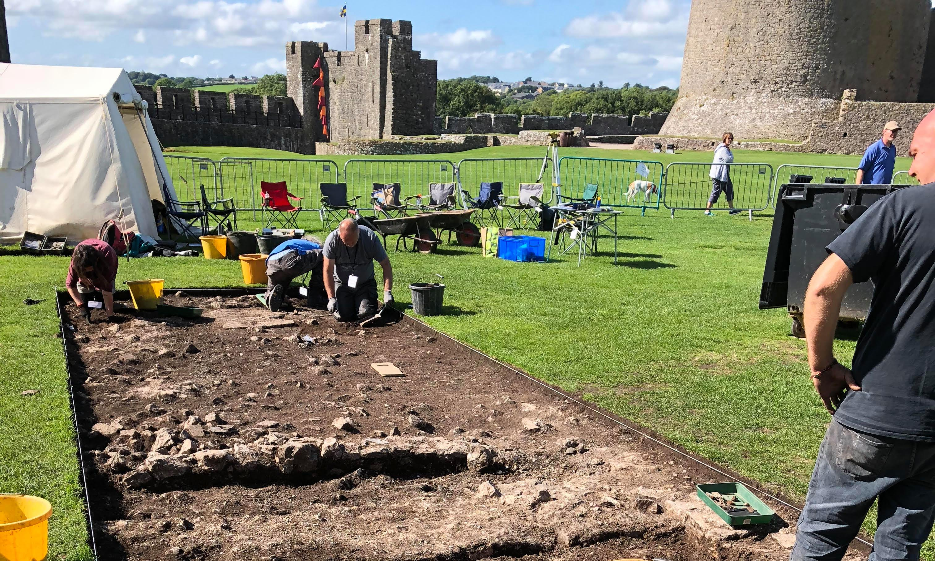 Likely birthplace of Henry VII found in Pembroke Castle