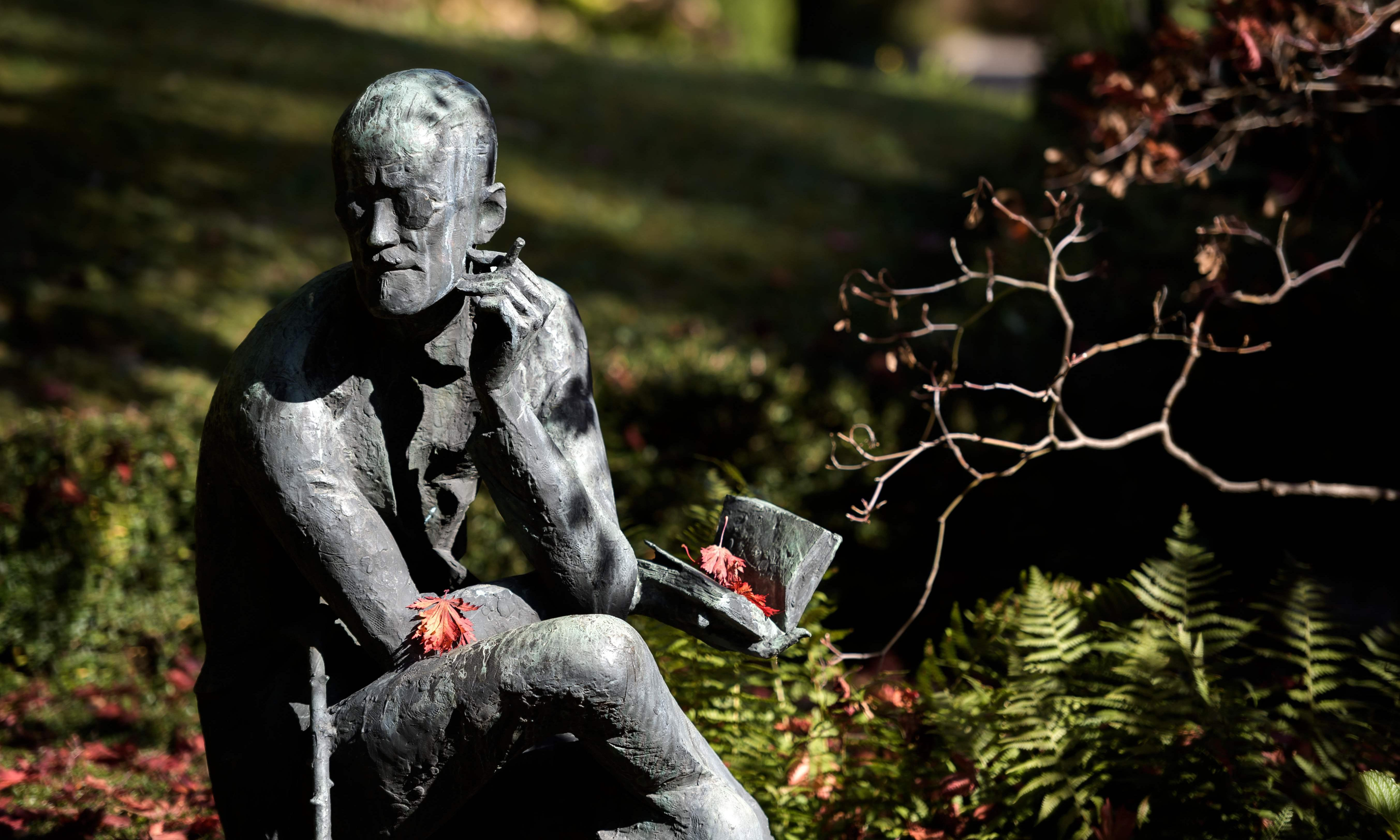 James Joyce's words haunt Dublin. It doesn't need his bones