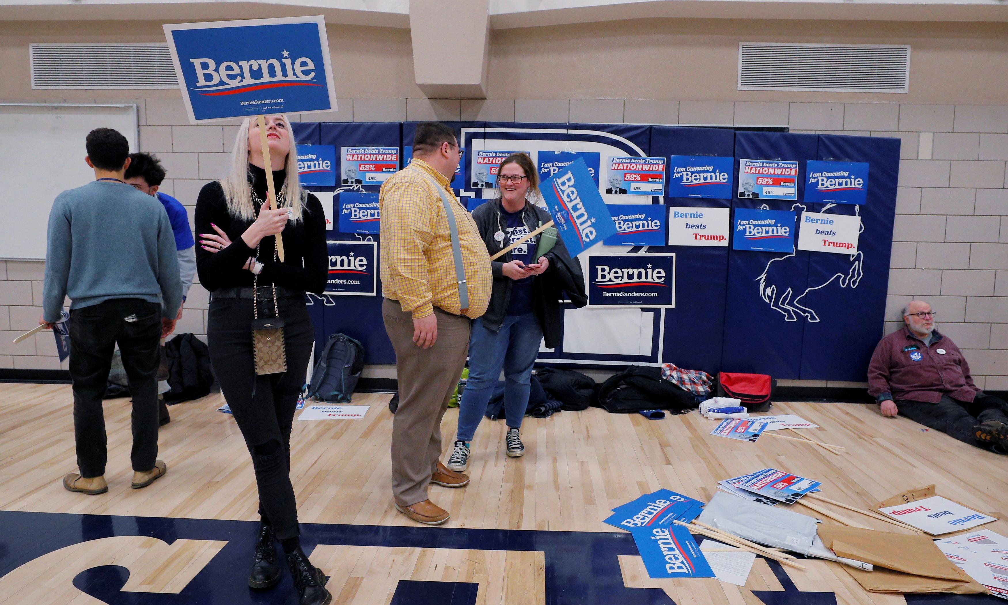 Trump fans flooded hotline to disrupt Iowa caucus process, Democrats say