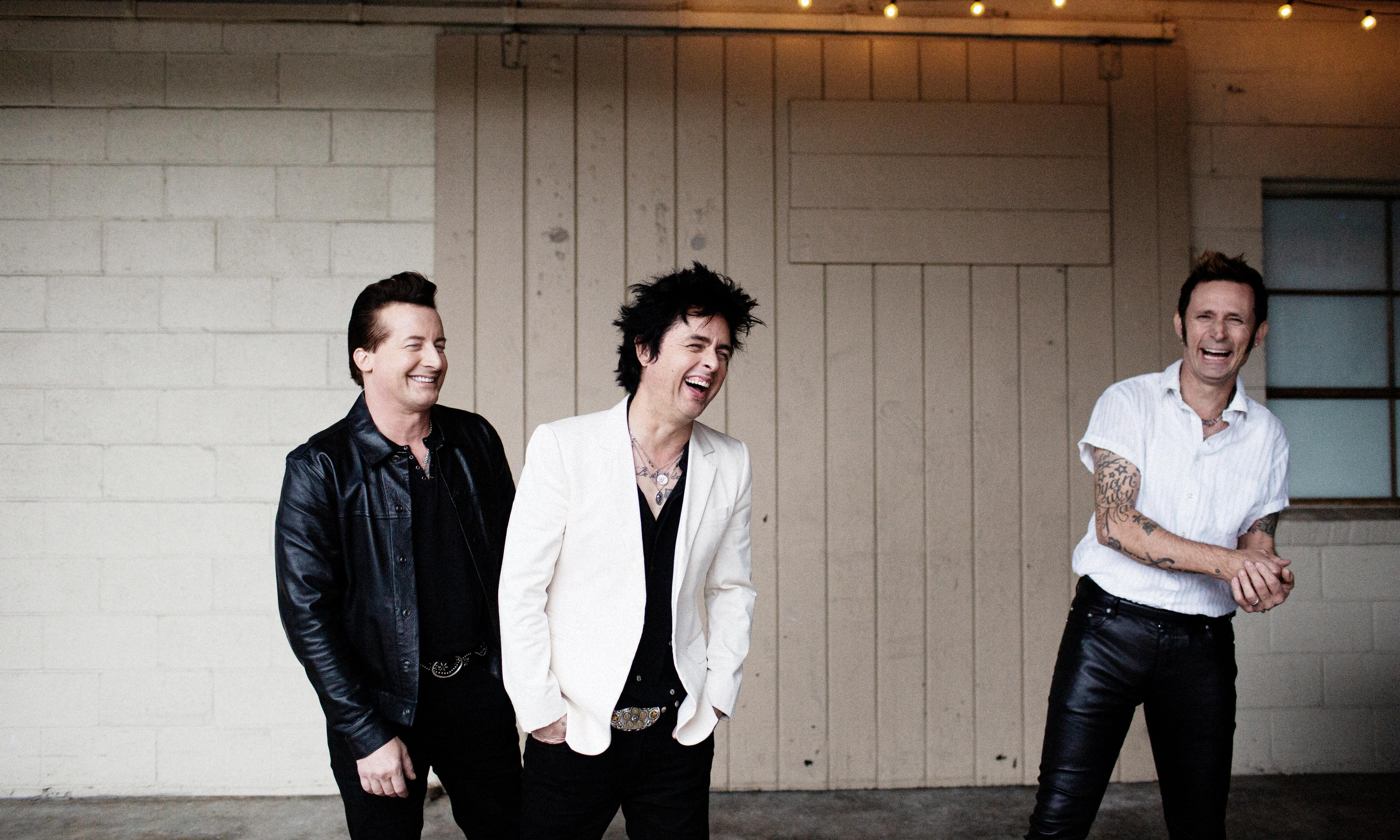 Green Day: 'Rock'n'roll helps you dance through the apocalypse'