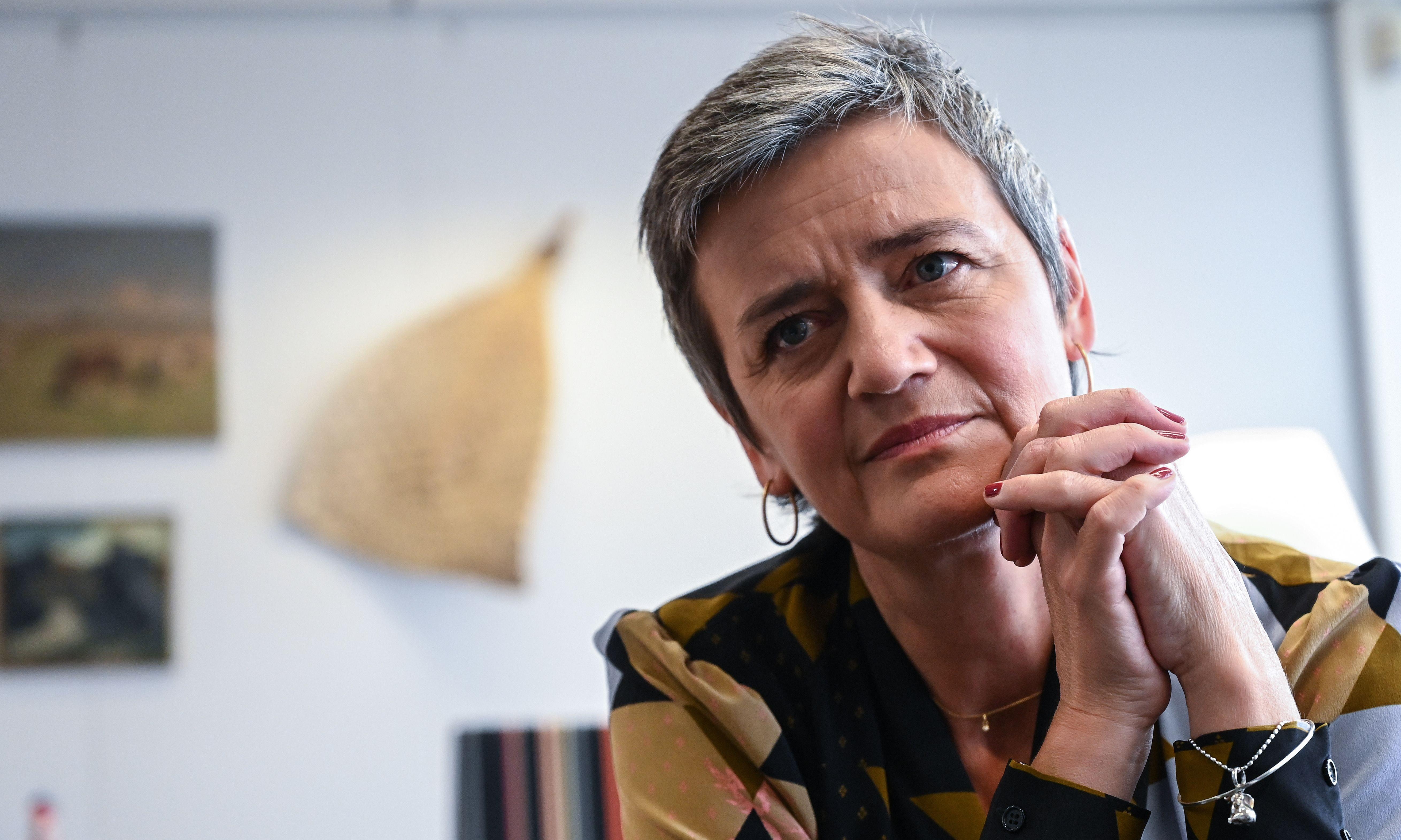 Margrethe Vestager scares the tech giants. If we leave the EU, we'll miss her