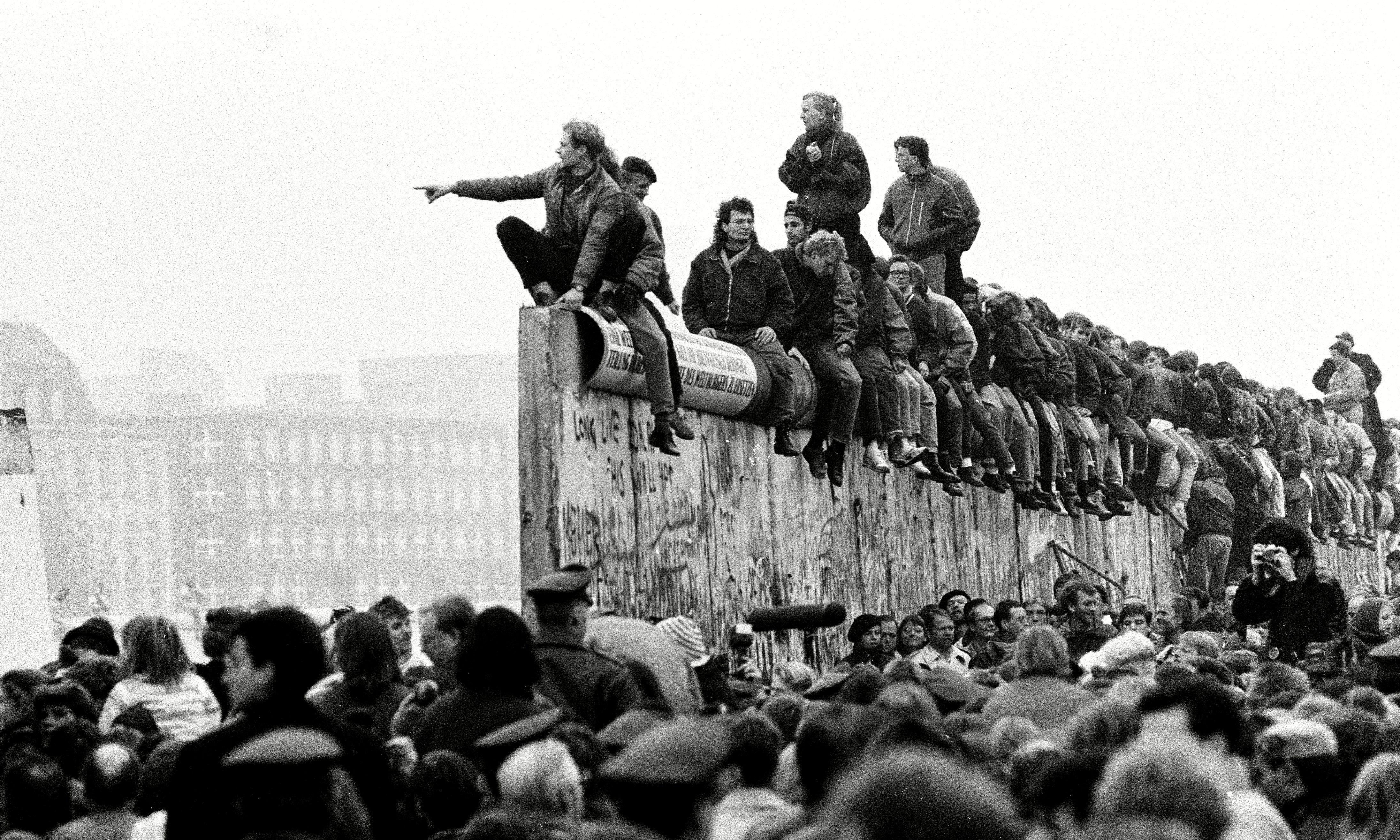Watching the fall of the Berlin Wall: 'I downed almost an entire bottle of schnapps'