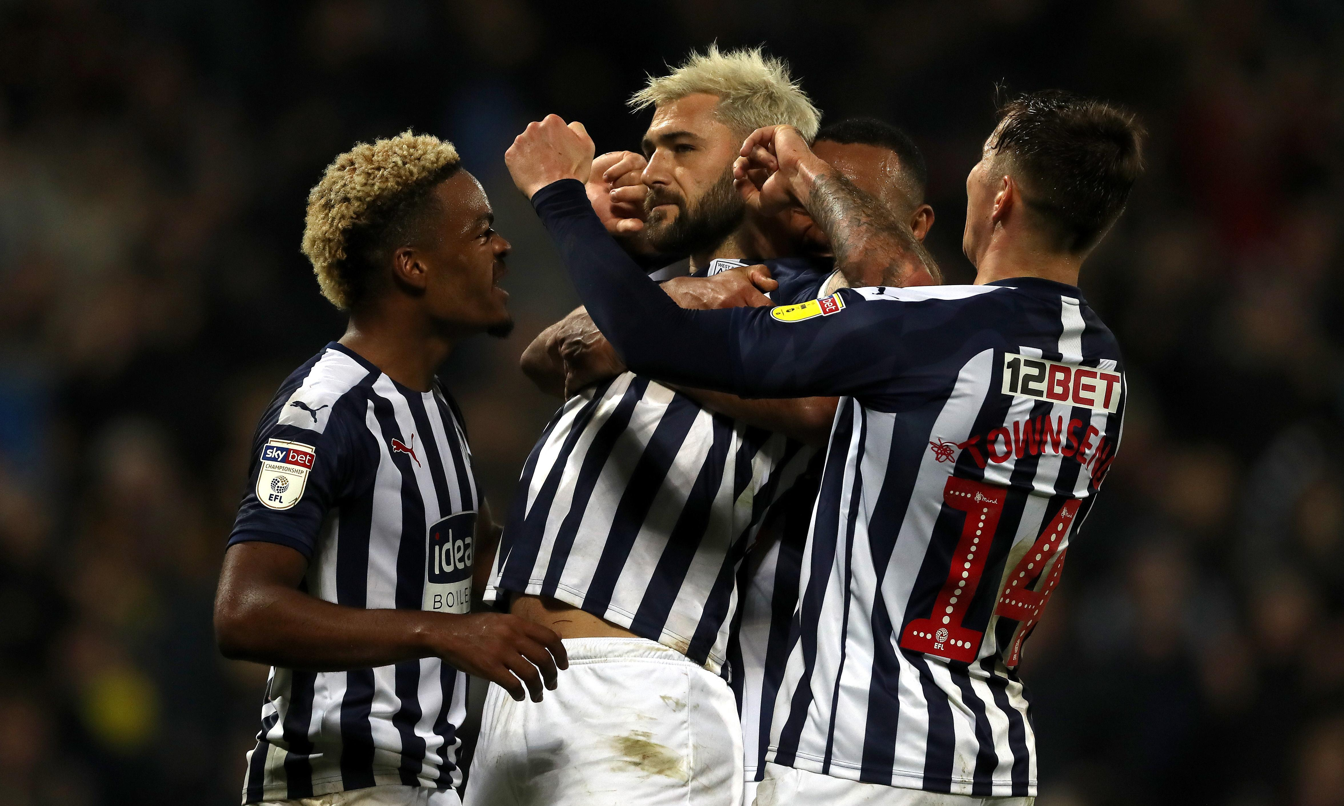 Football League: West Brom and Leeds keep up pace at top with late winners