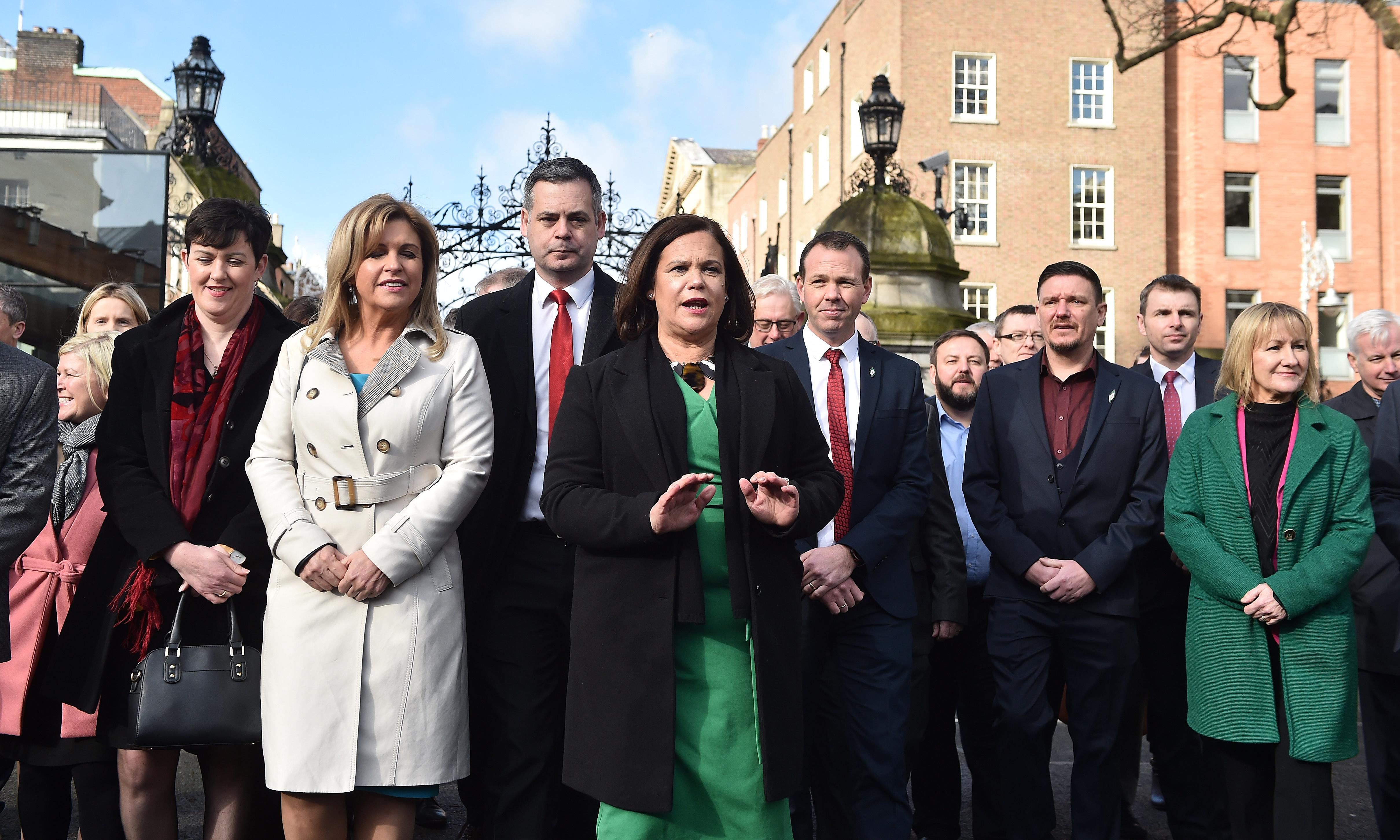 Hysteria over Sinn Féin entering government is about power, not the past