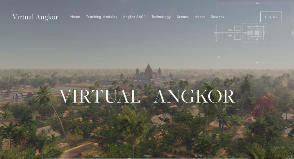 Screenshot from Virtual Angkor project website Photograph: Virtual Angkor project website