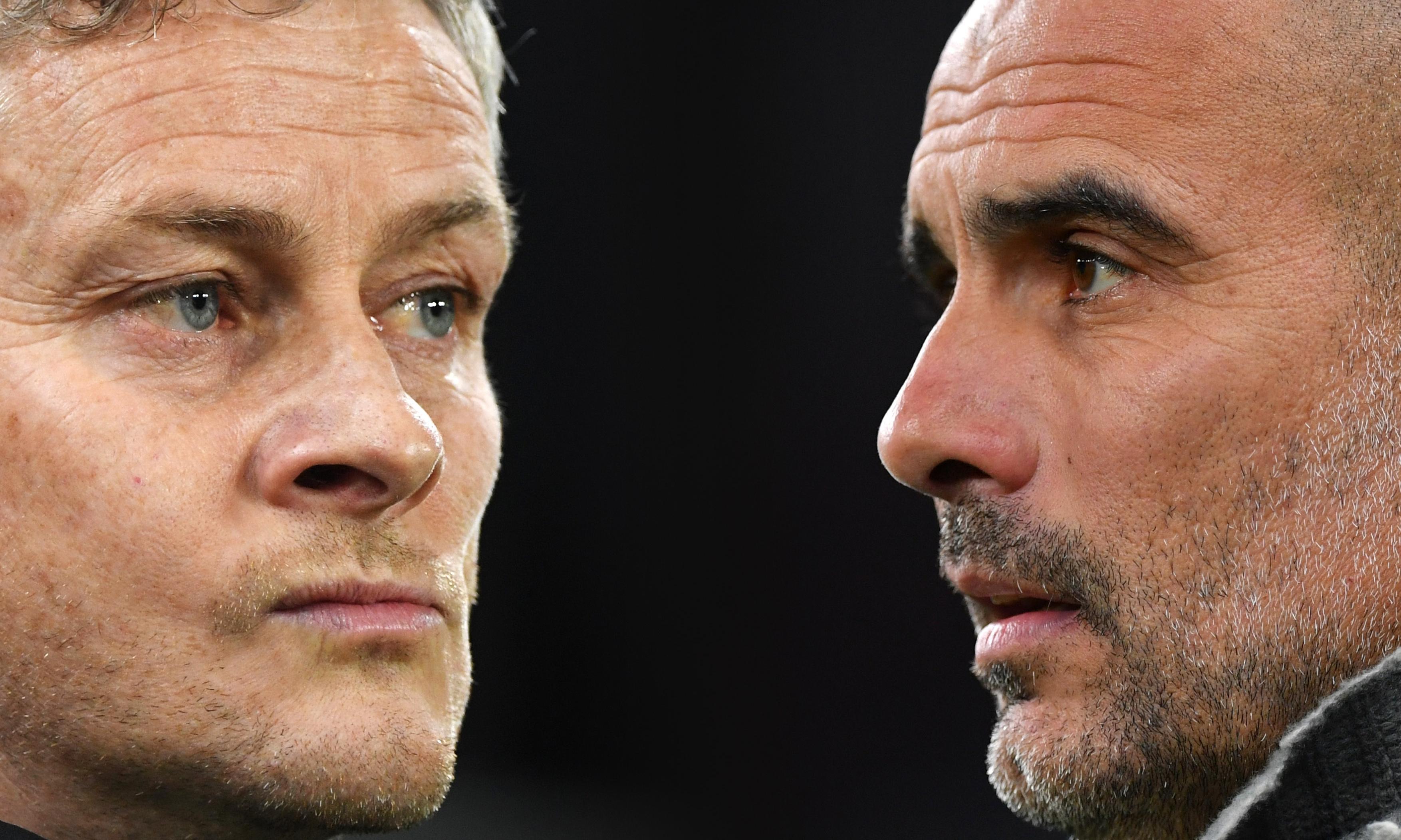Pep Guardiola hits back at Ole Gunnar Solskjær over 'foul' accusations