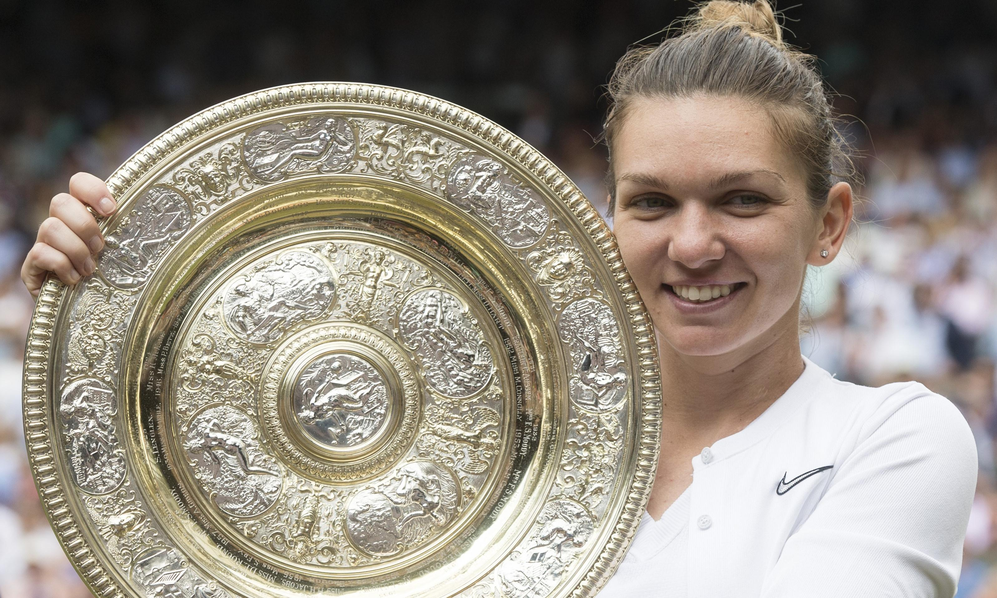 Simona Halep sets sights on Olympics after fulfilling Wimbledon dream