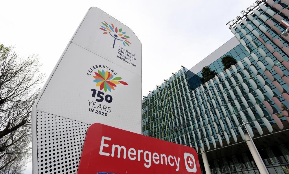 Royal Children's hospital in Melbourne.