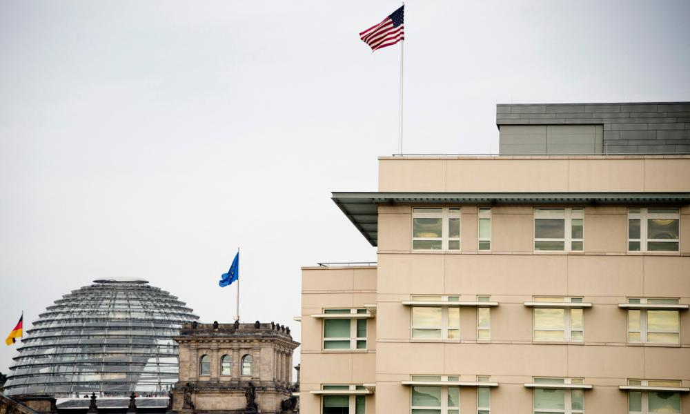 The US embassy in Berlin has handed over evidence of the alleged incidents to German police.