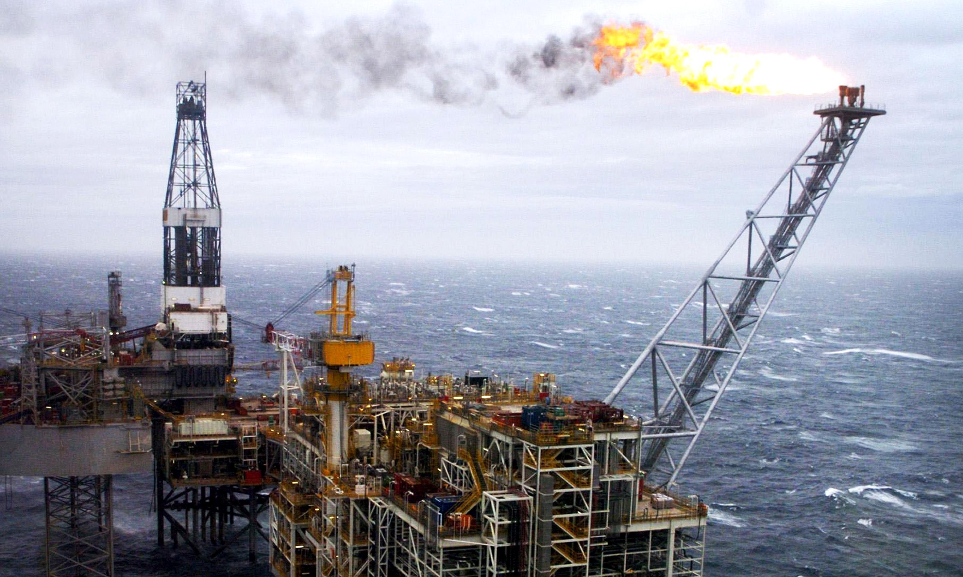 North Sea oilfields could help contain climate change, says report