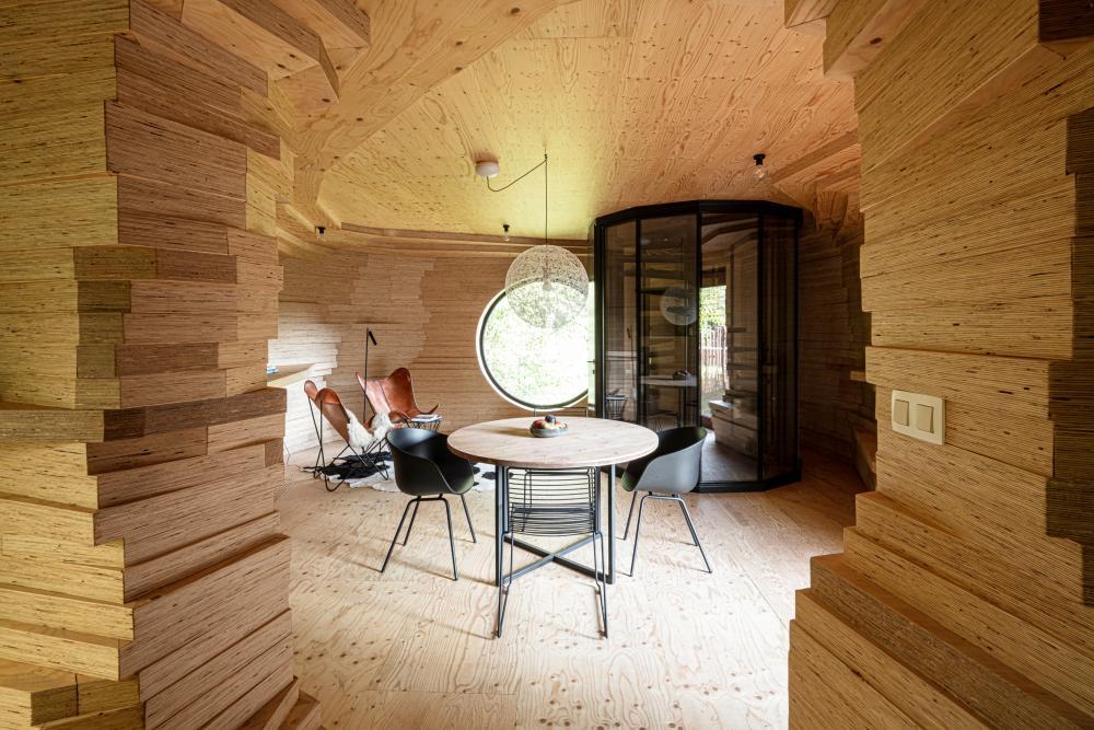 Alex's guesthouse by Atelier Vens Vanbelle.