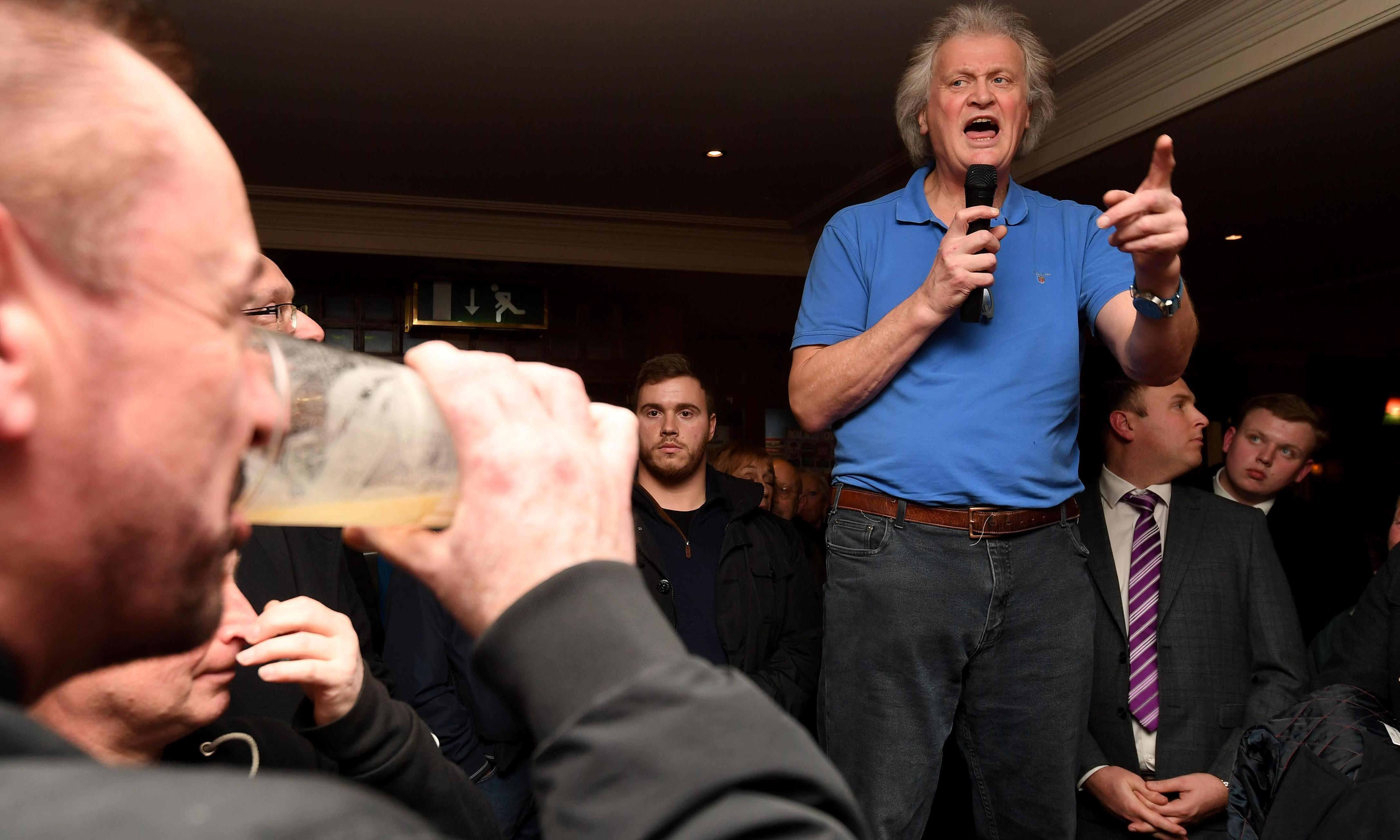 Brexit goes glossy in Wetherspoon's pubs