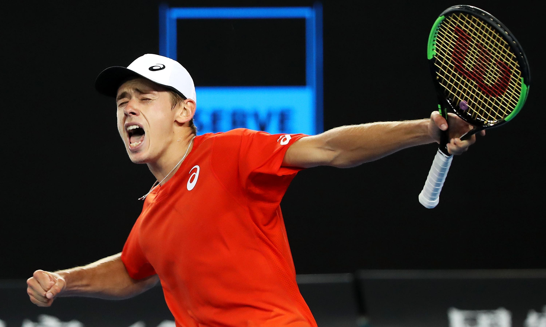 Confident Alex De Minaur unruffled by prospect of facing Rafael Nadal again