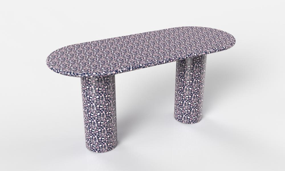 Pillar desk by Bethan Gray.