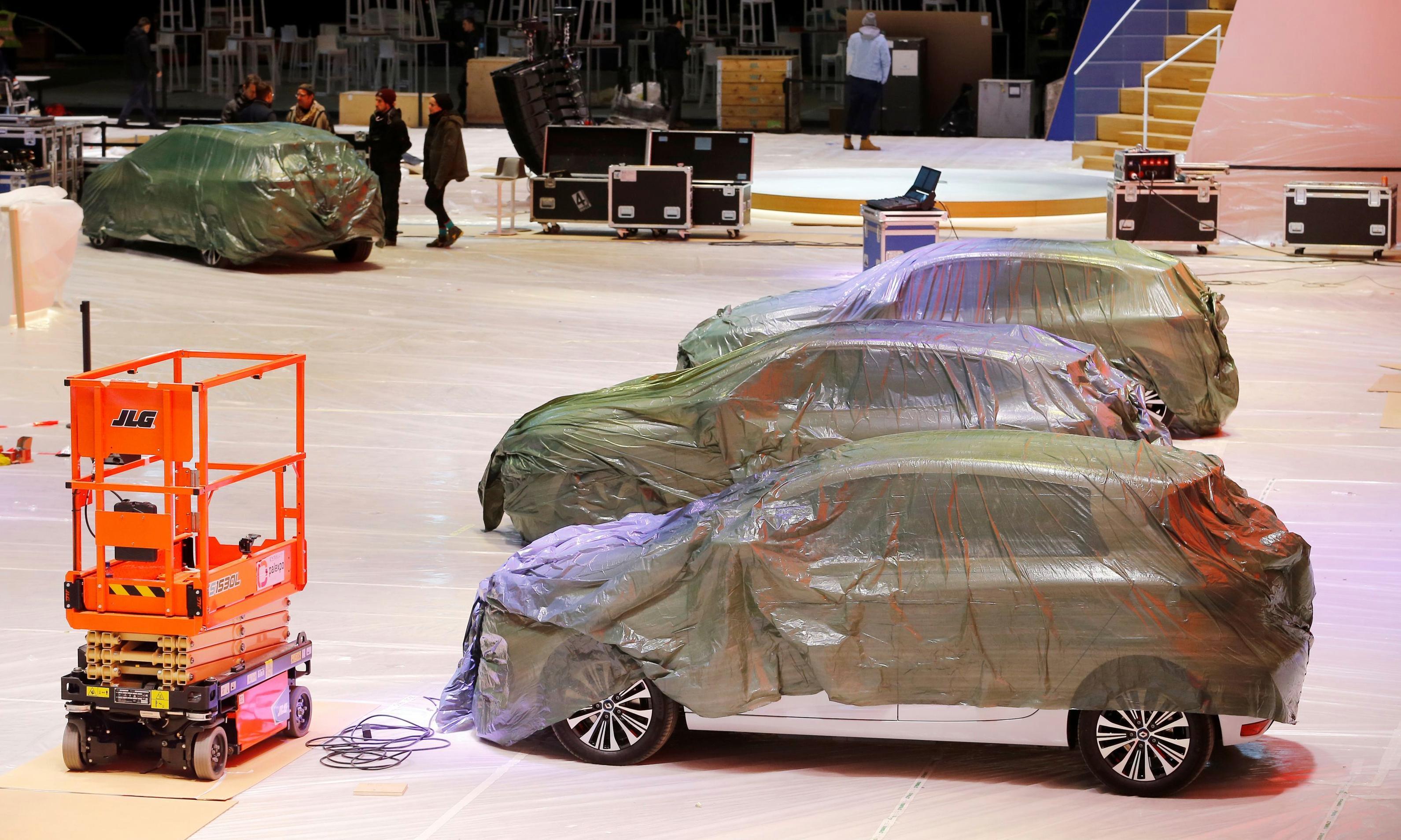 Geneva motor show cancelled as Switzerland bans large events