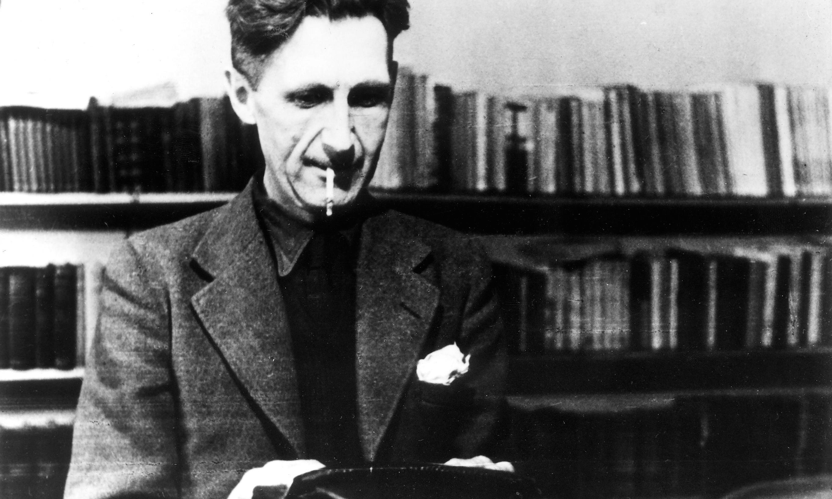 'He typed in bed in his dressing gown': how Orwell wrote Nineteen Eighty-Four