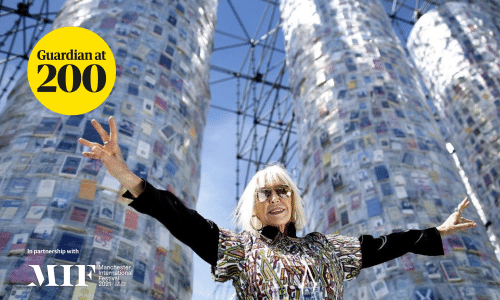 Argentinian artist Marta Minujín, whose installation Big Ben Lying Down with Political Books will appear in Manchester City centre as part of the 2021 Manchester International Festival