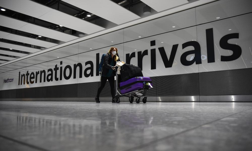 Travellers from high-risk countries will be met at the airport and transported directly into quarantine.