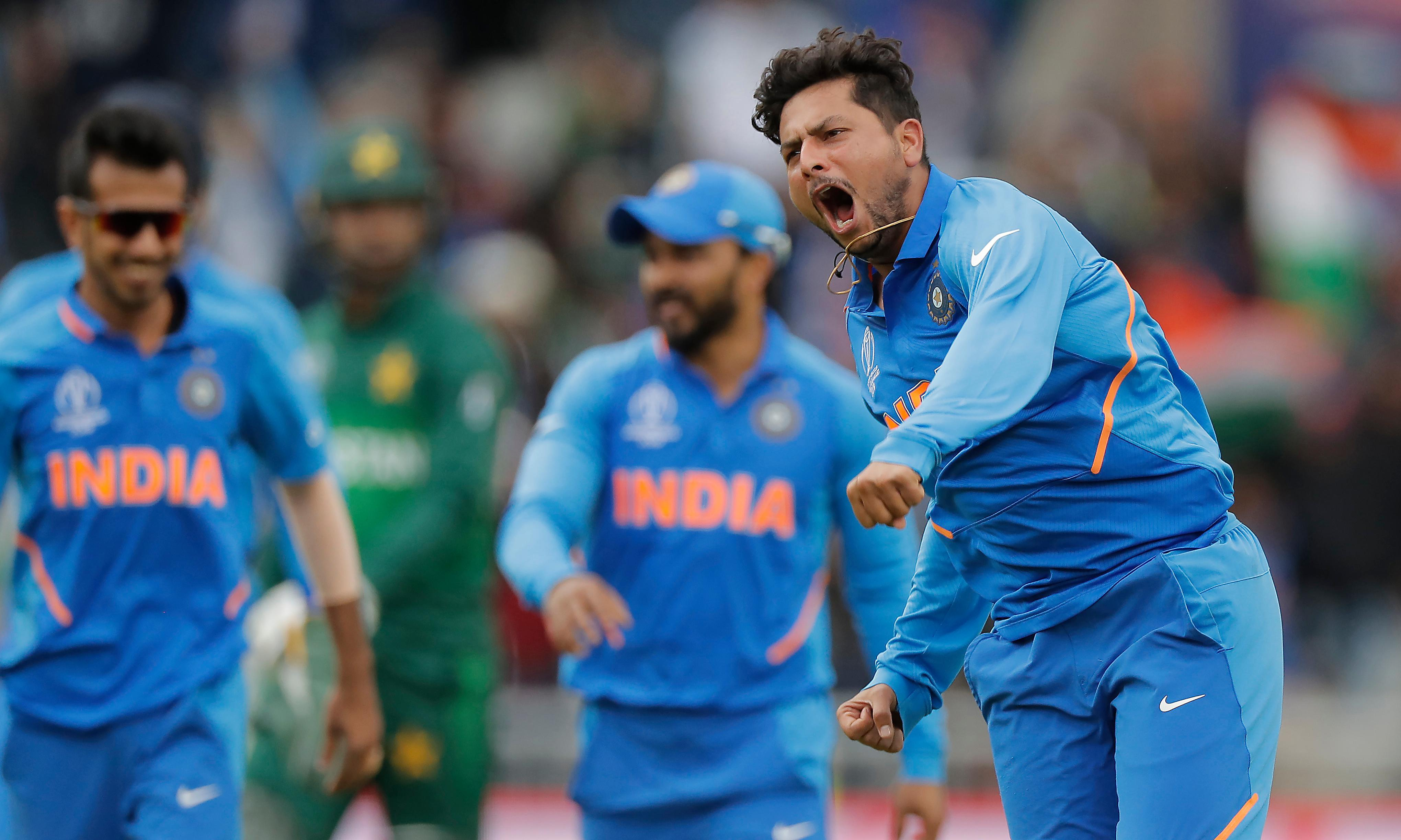 Superb Kuldeep Yadav puts Pakistan in a spin to turn match India's way