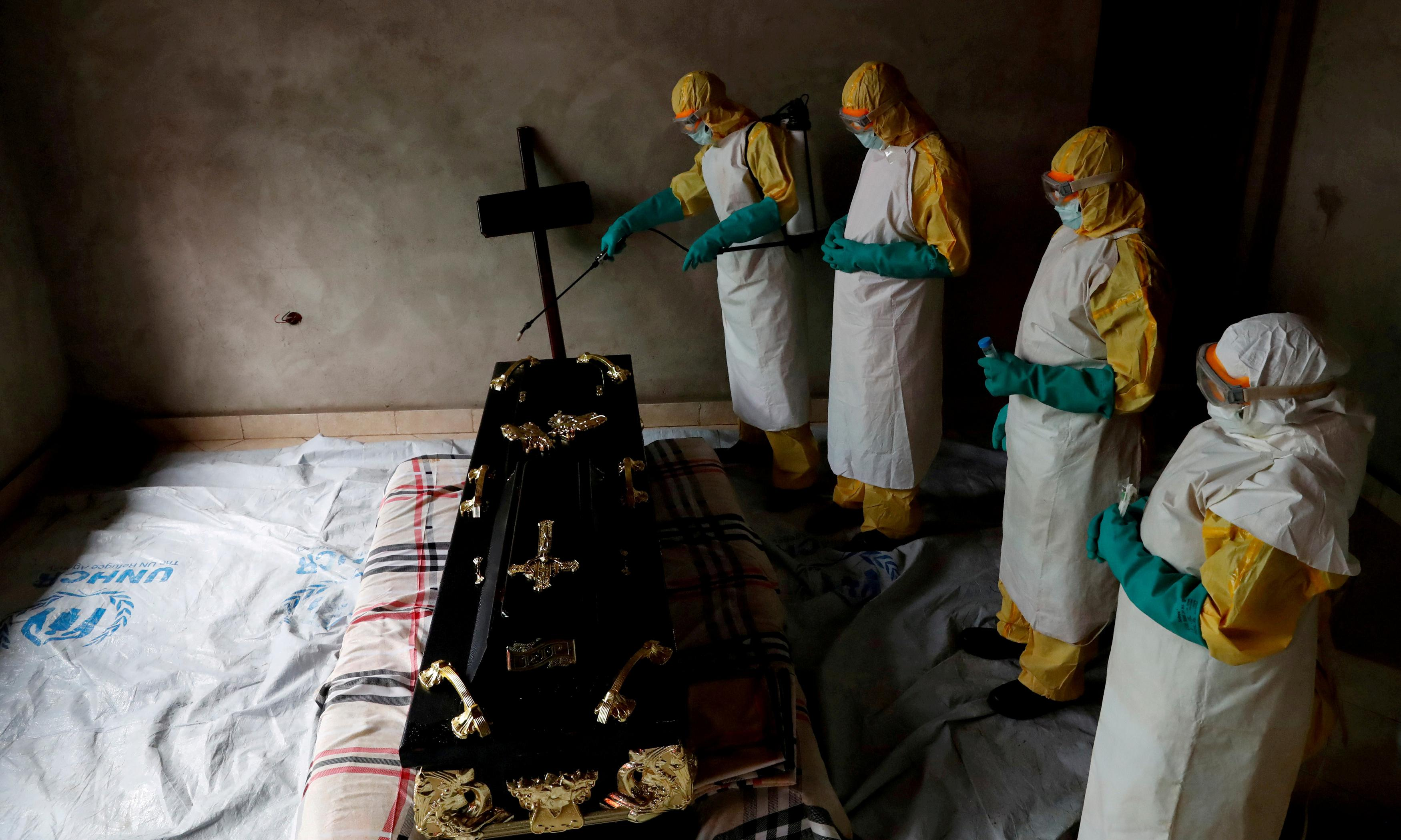 As Ebola kills in Africa, in the west lies over vaccines beguile the complacent