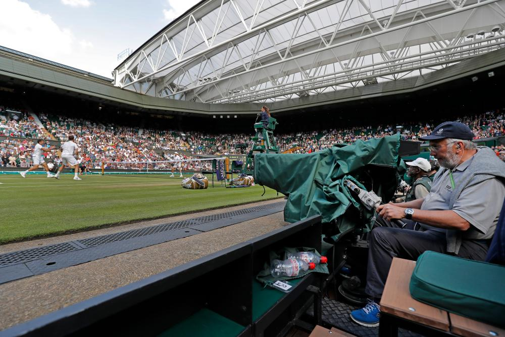 inside the bbc at wimbledon a photo essay sport the guardian bringing wimbledon to the world