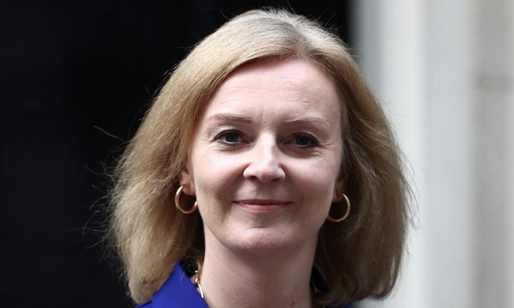 Britain's new foreign secretary, Liz Truss