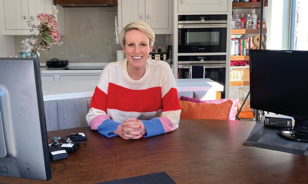 Steph McGovern is filming her new show from her house