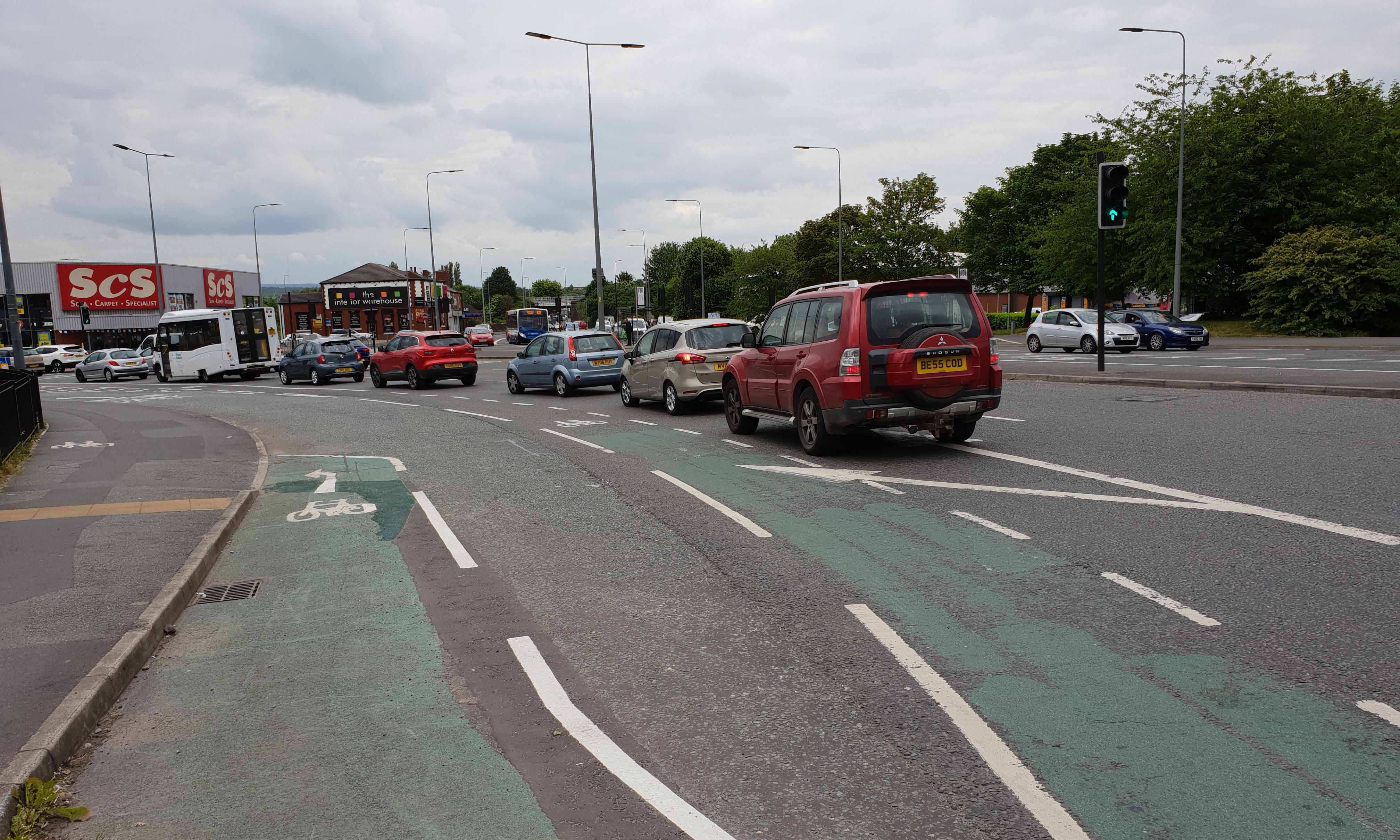 Painted bike lanes are waste of money, say cycling commissioners