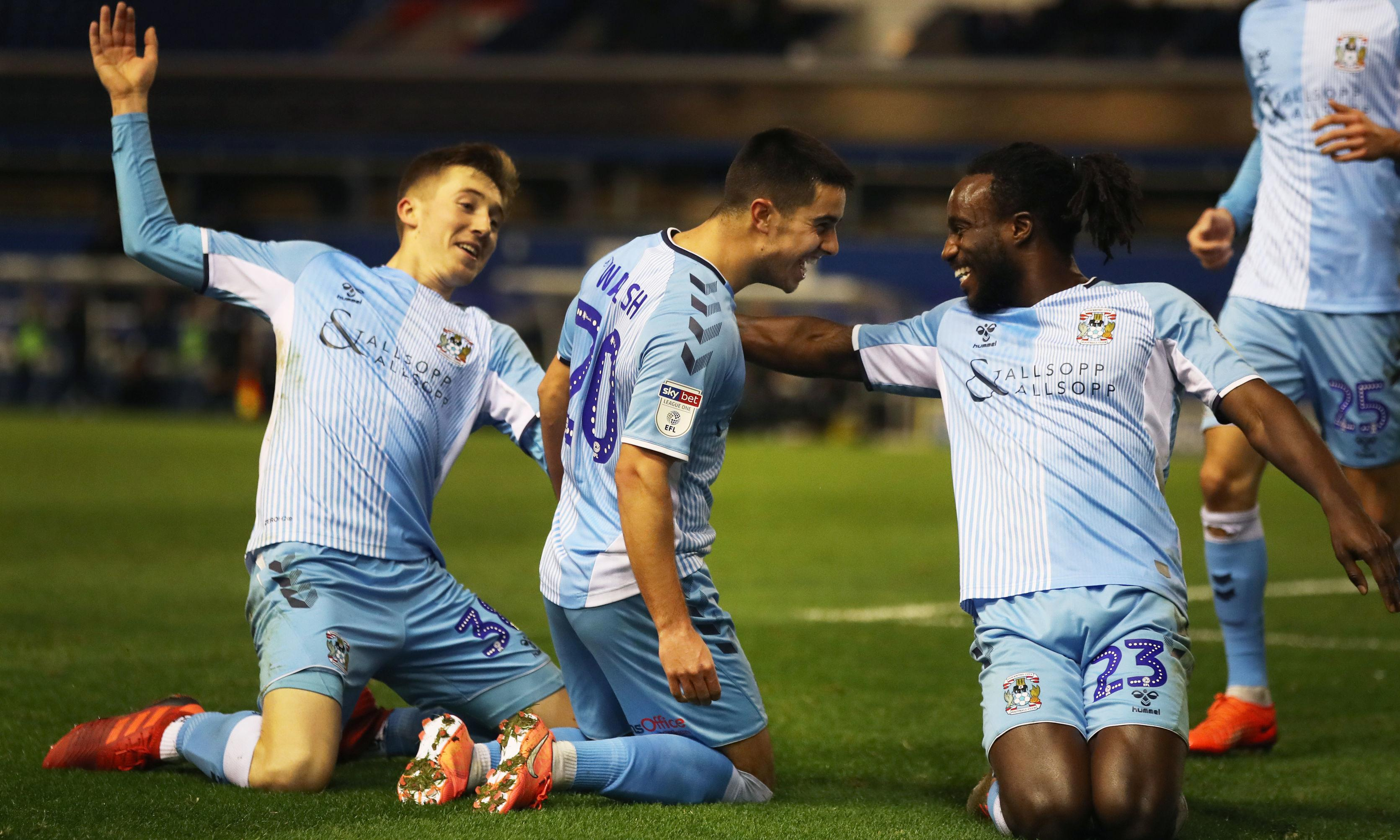 Football League: Coventry and Bolton on the rise while Swindon soar