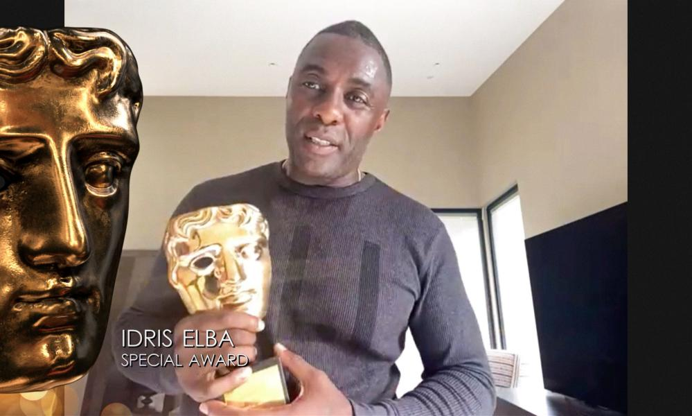 Accepting the Special Award Idris Elba said the 'needle has moved significantly' in recognition of BAME actors by Bafta.