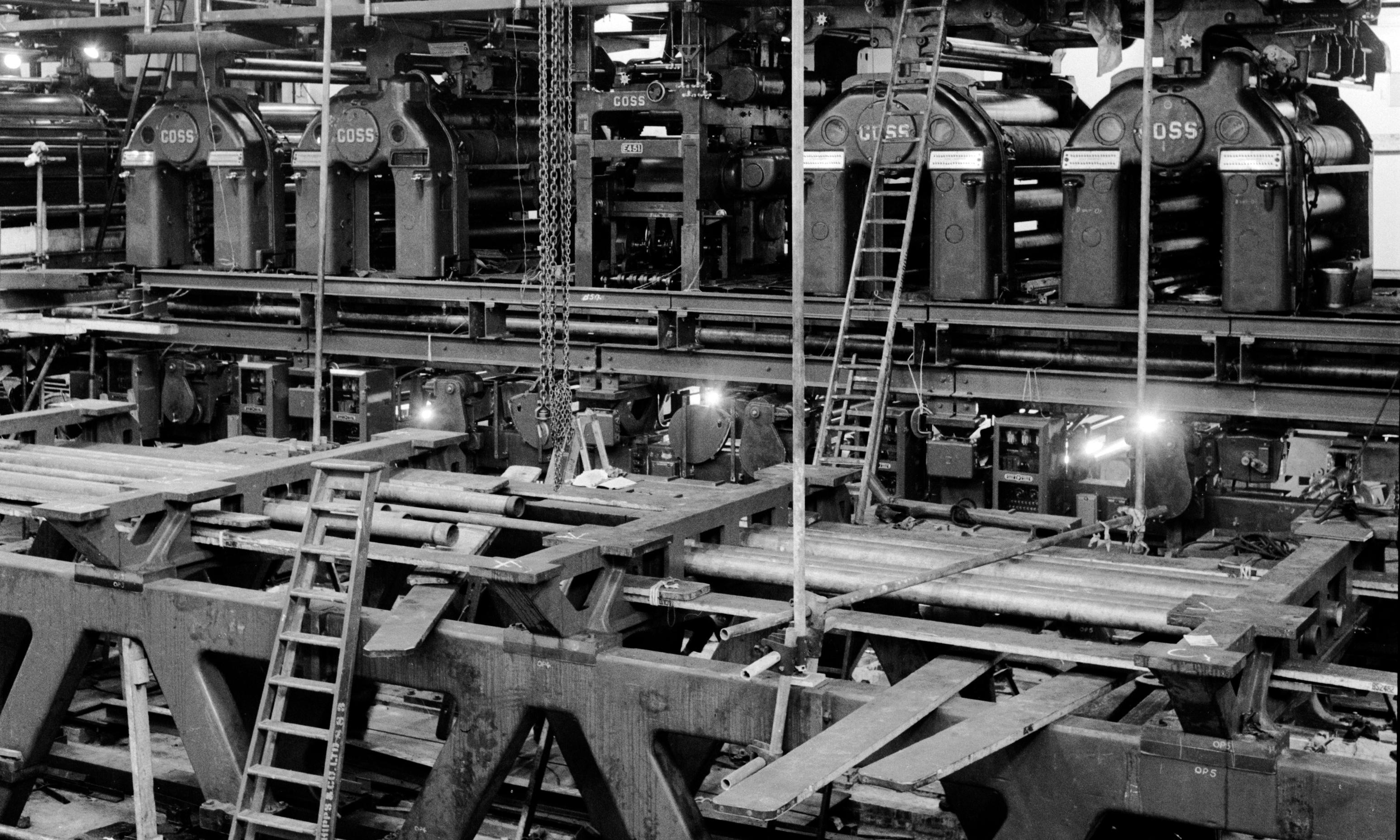 My dad's print works wasn't just a business – it was an ink-spattered dream factory