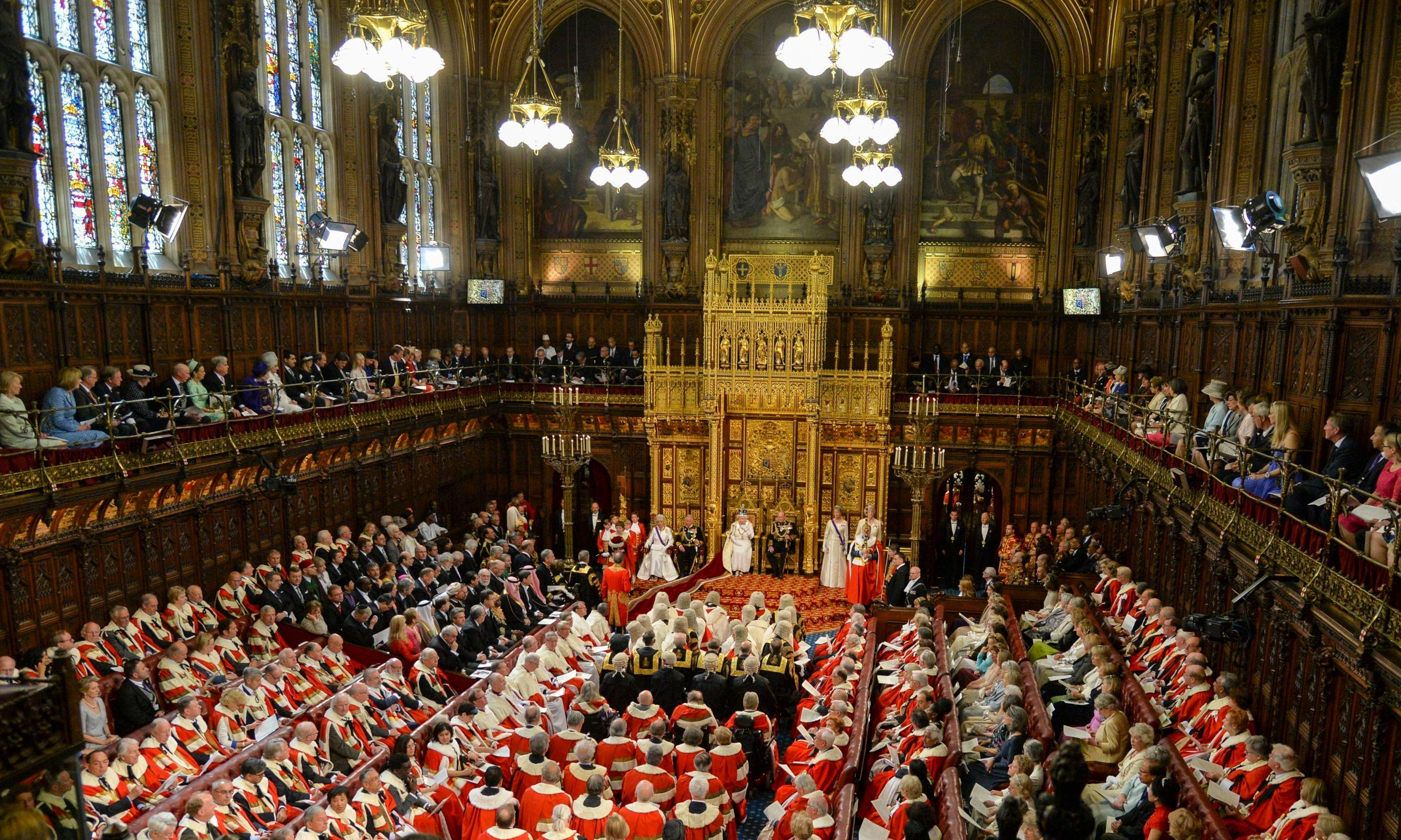 Peers deride Tory plan to ship House of Lords to north of England