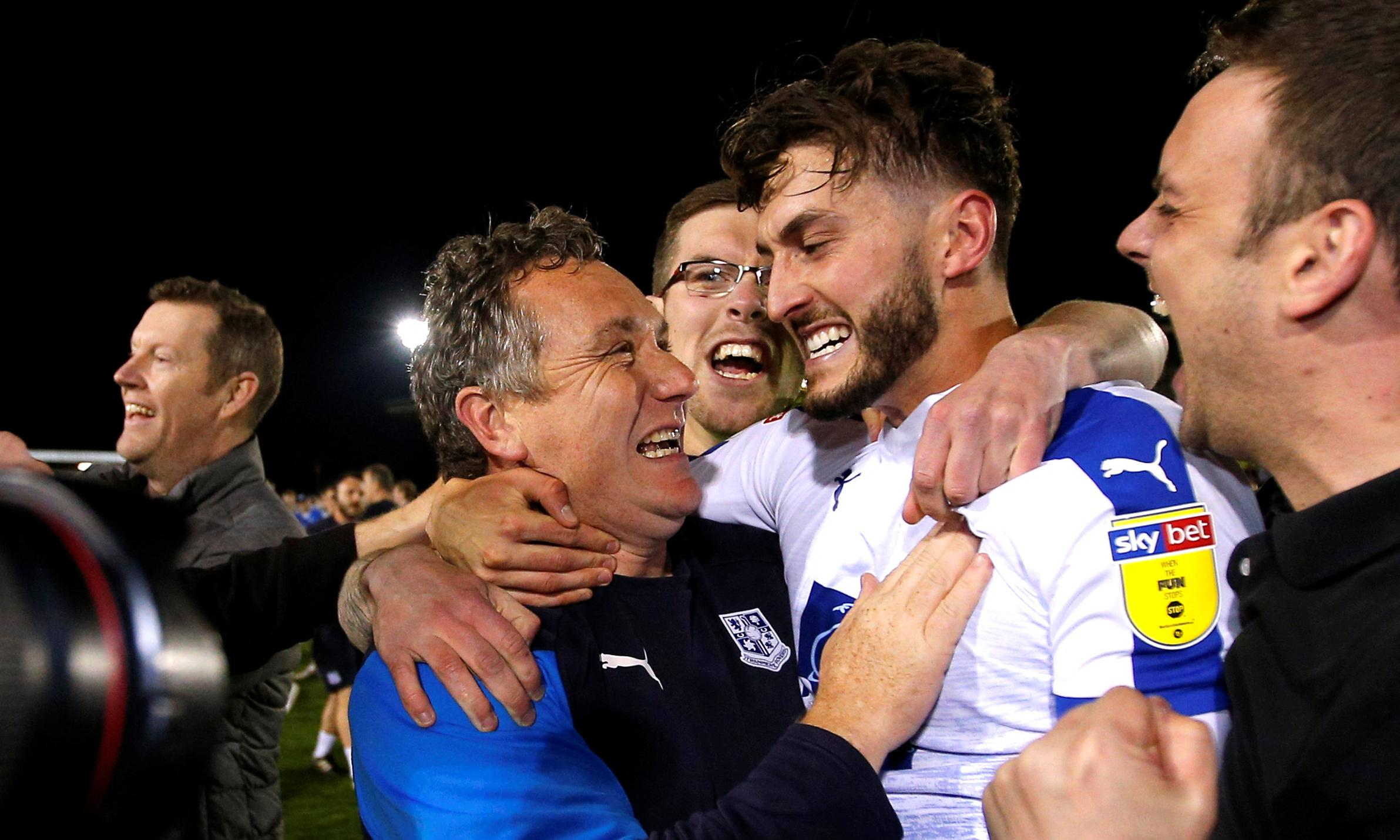 On Merseyside at the moment the spotlight is on Tranmere, says Mellon