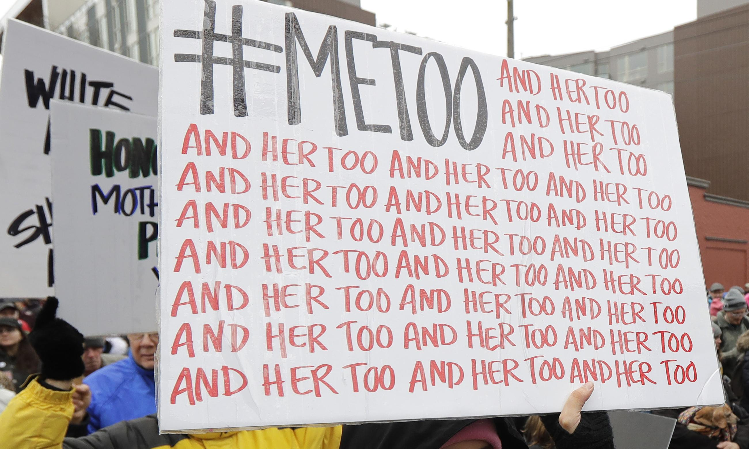 Women let down by the justice system, two years on from #MeToo