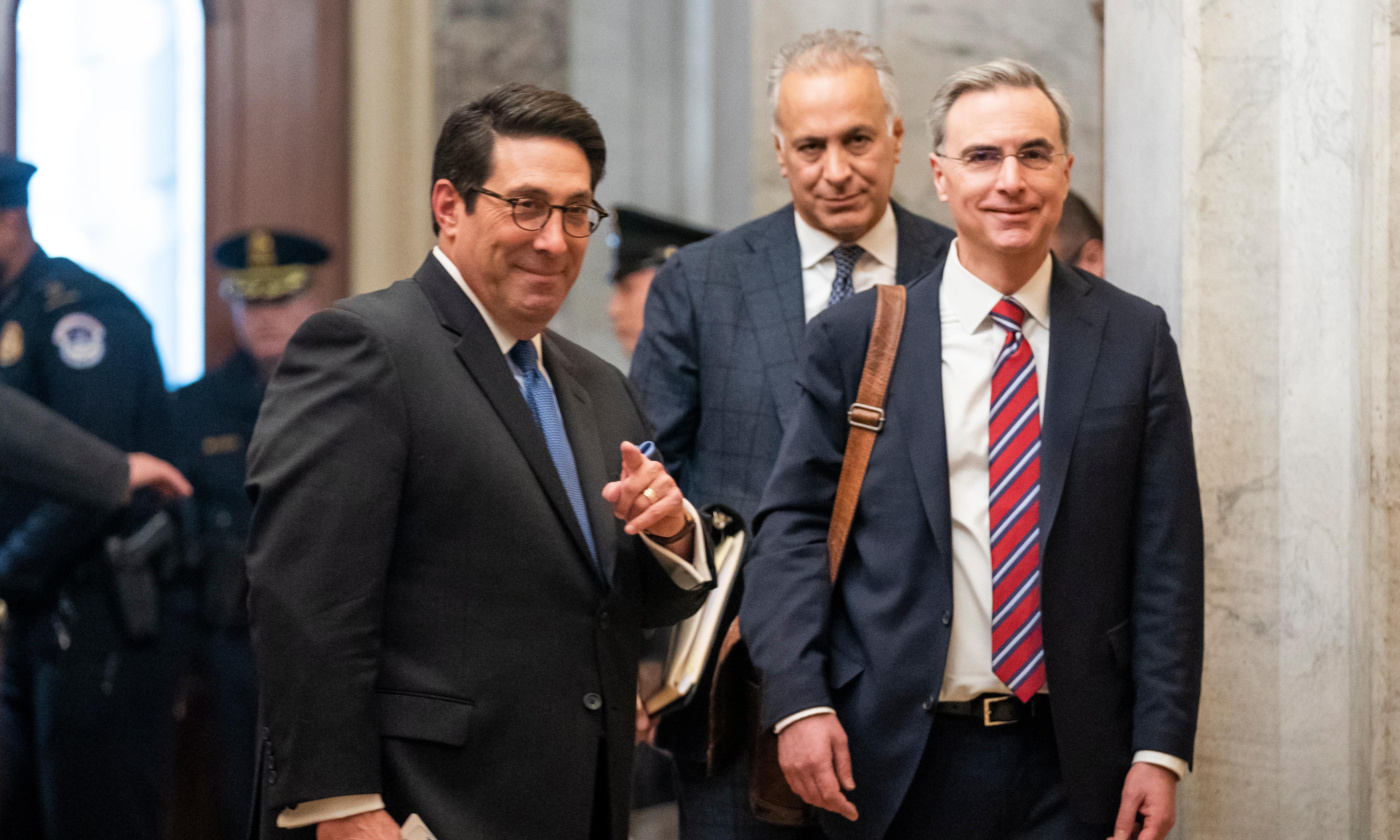 Meet the team defending Trump in his impeachment trial