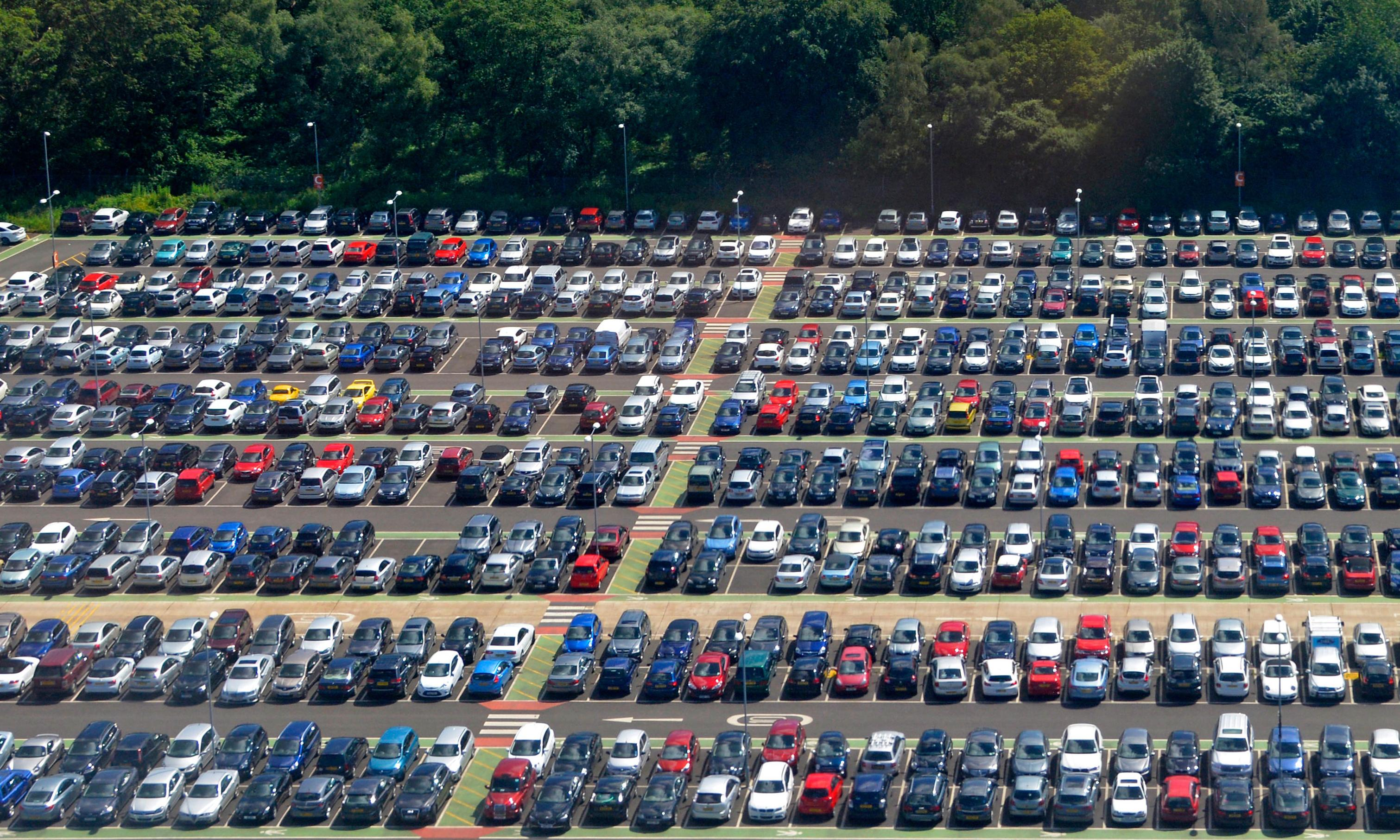 Dinosaurs, dogging and death: the secret life of British car parks