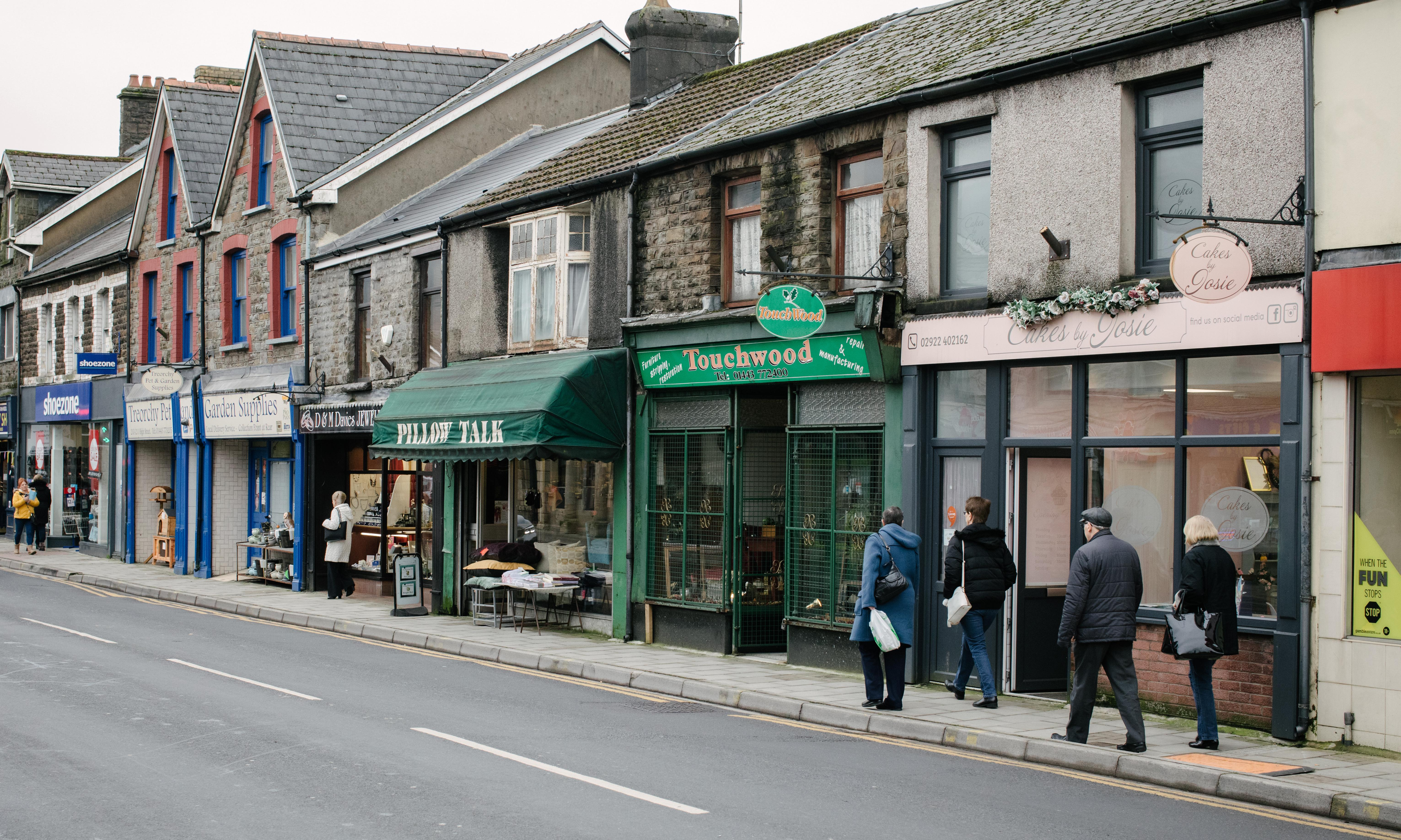 'It came out of adversity': how Treorchy became UK's best high street