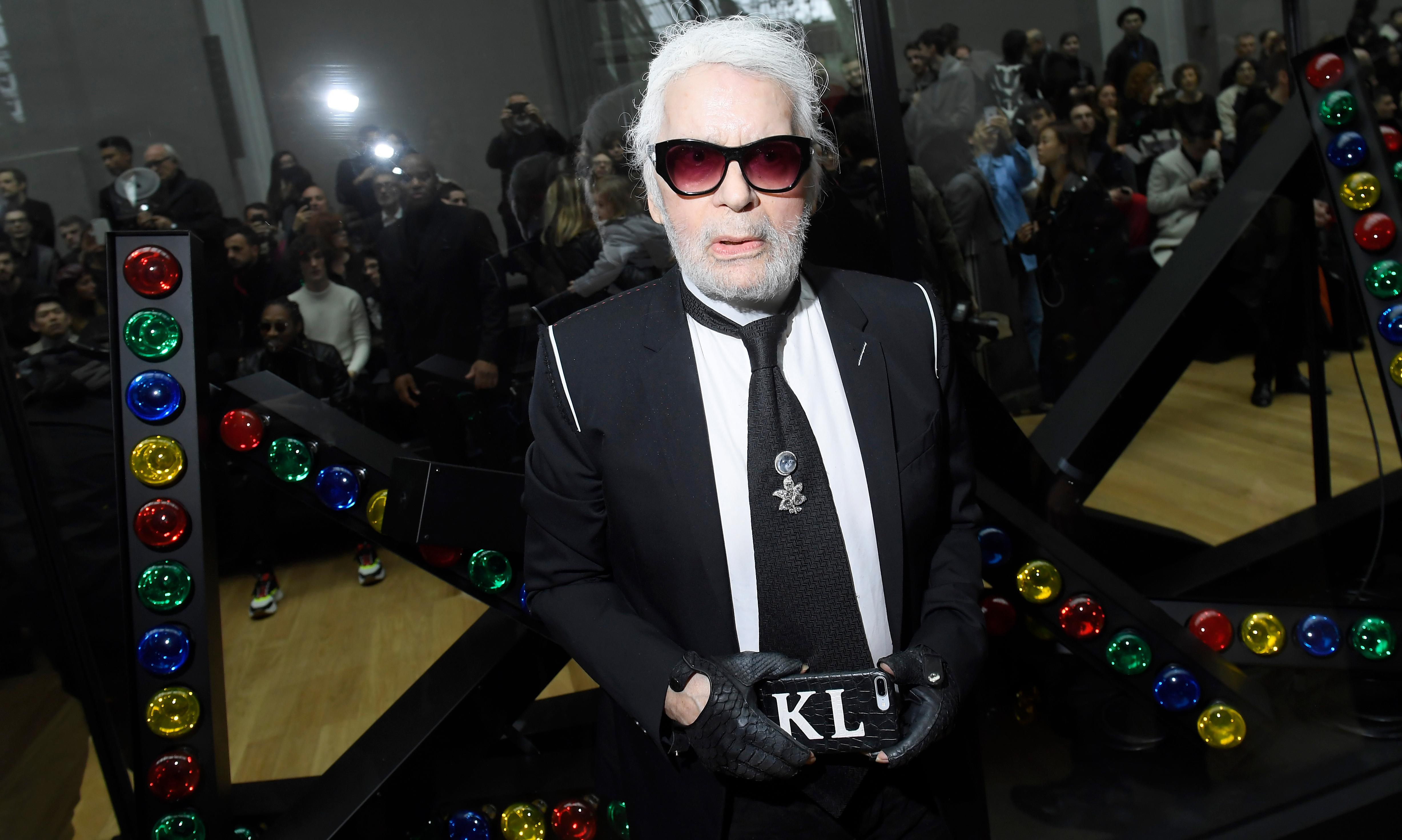 Karl Lagerfeld, artistic director at Chanel, dies aged 85