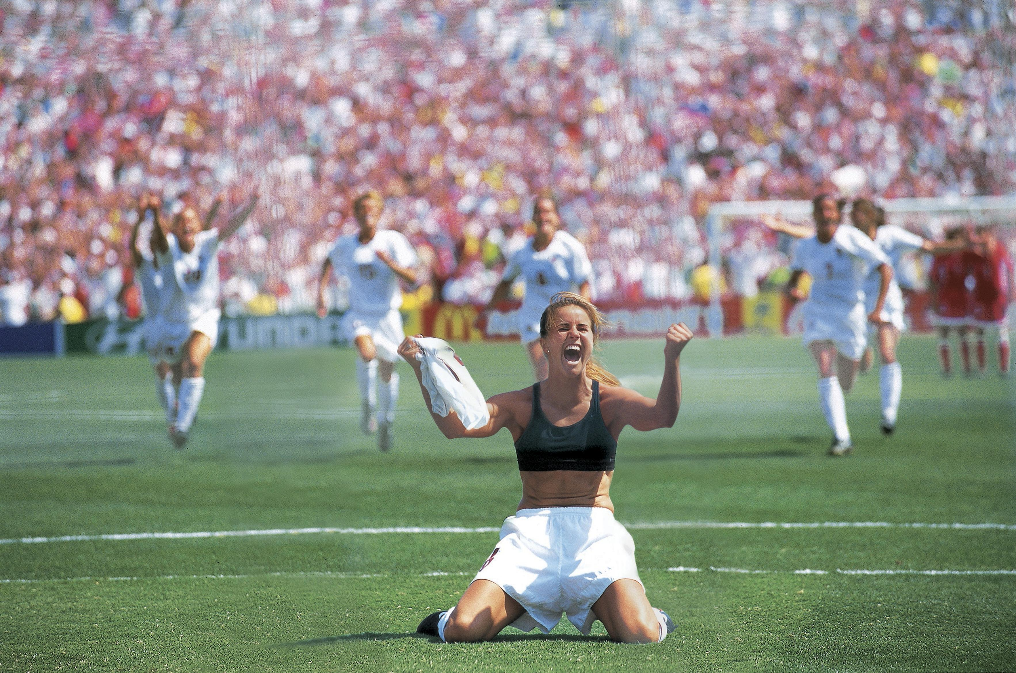 Women's World Cup game-changing moments No 4: Brandi Chastain in 1999