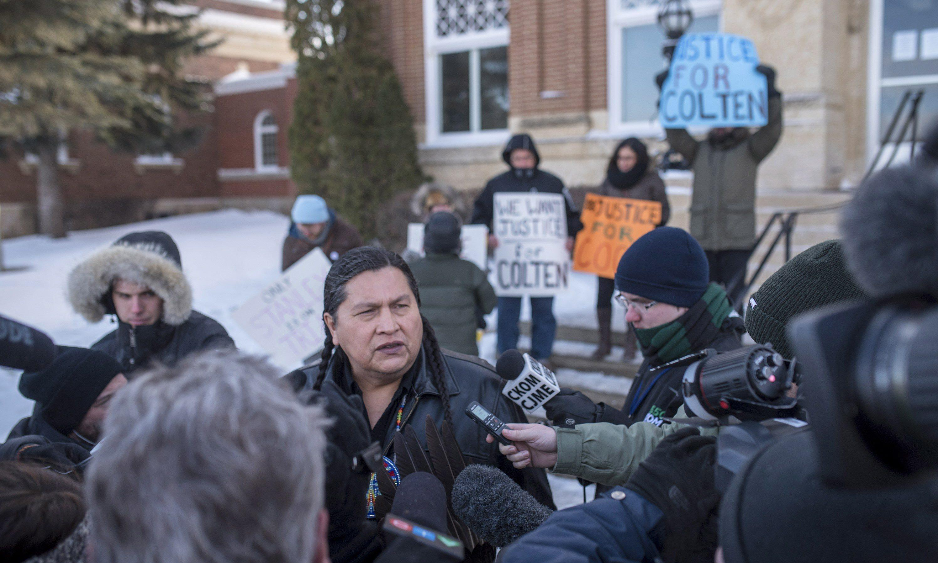 Canada: indigenous groups urge reform after shock of white farmer's acquittal