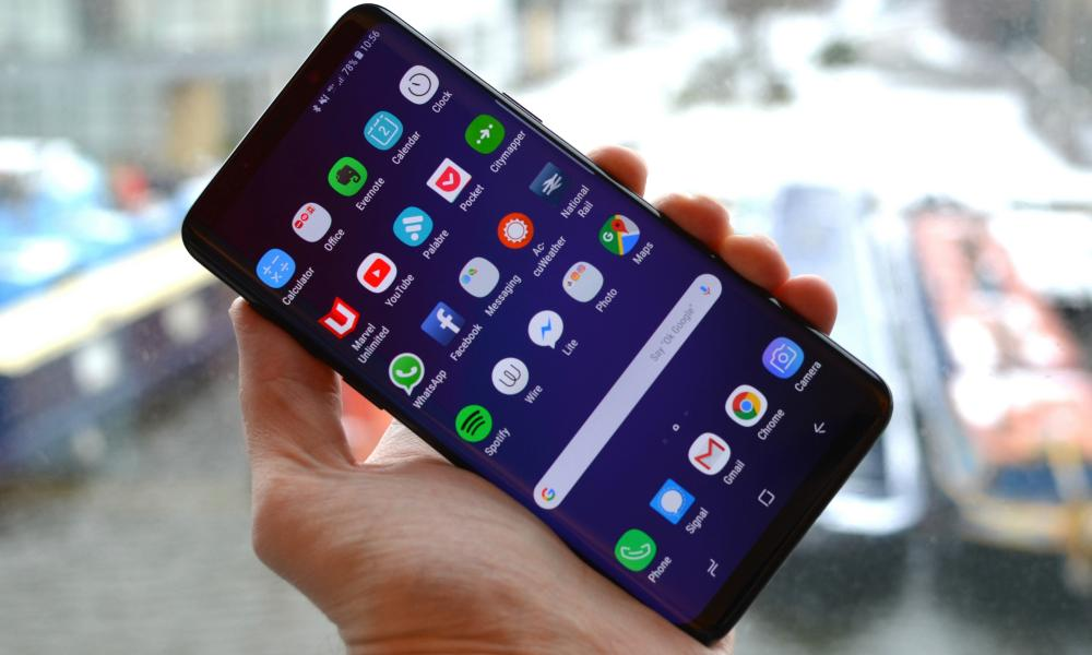 smartphone buyer's guide - samsung galaxy s9+