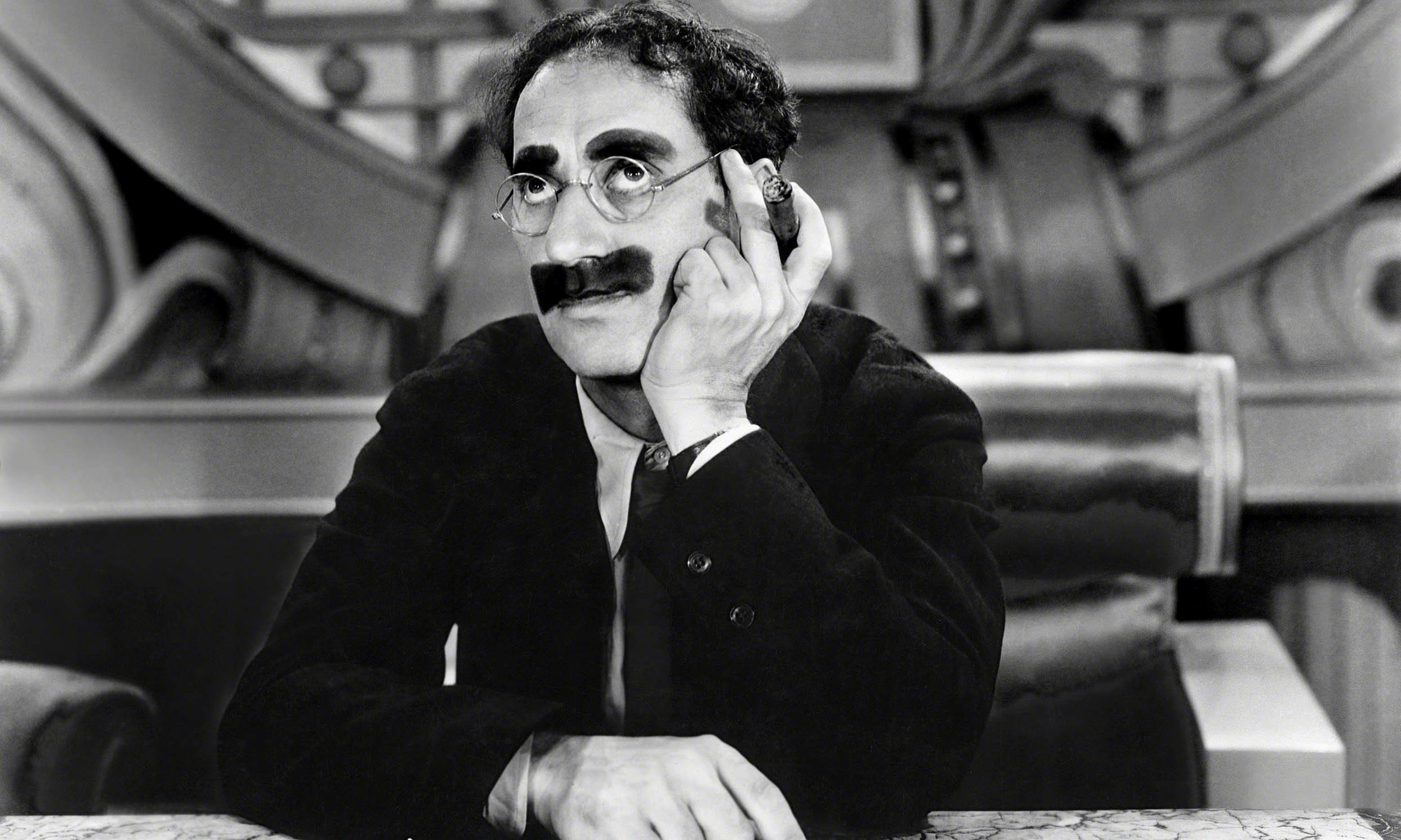May I have a word... about Groucho Marx and the pleasures of a paraprosdokian