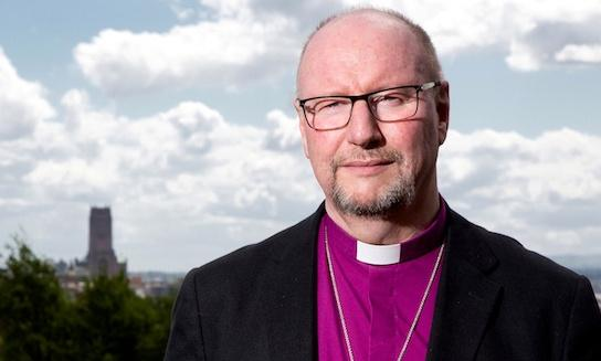 Trump's politics are toxic and dangerous, says bishop of Liverpool